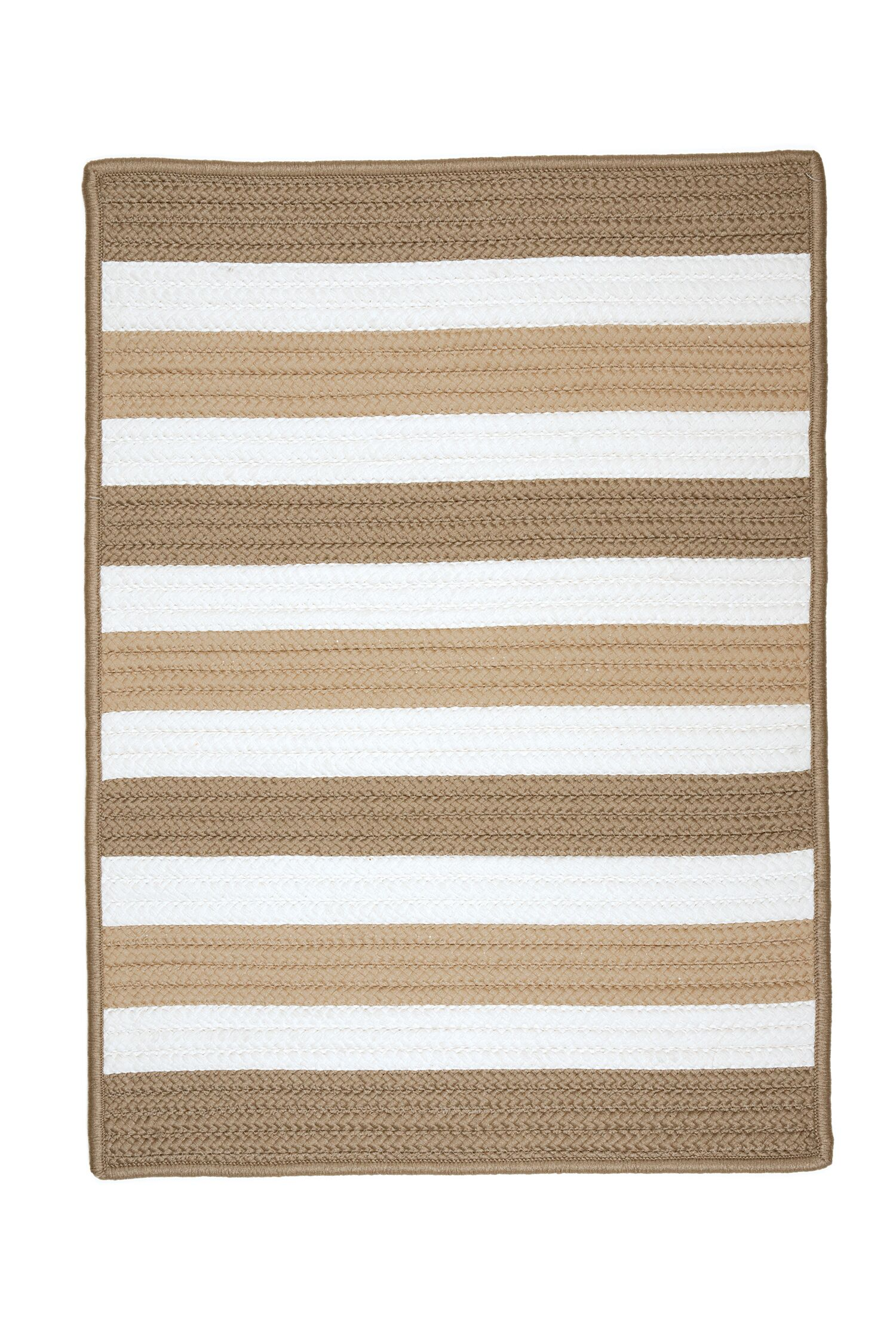 Eagle Lake Sand Indoor/Outdoor Area Rug Rug Size: Rectangle 2' x 4'