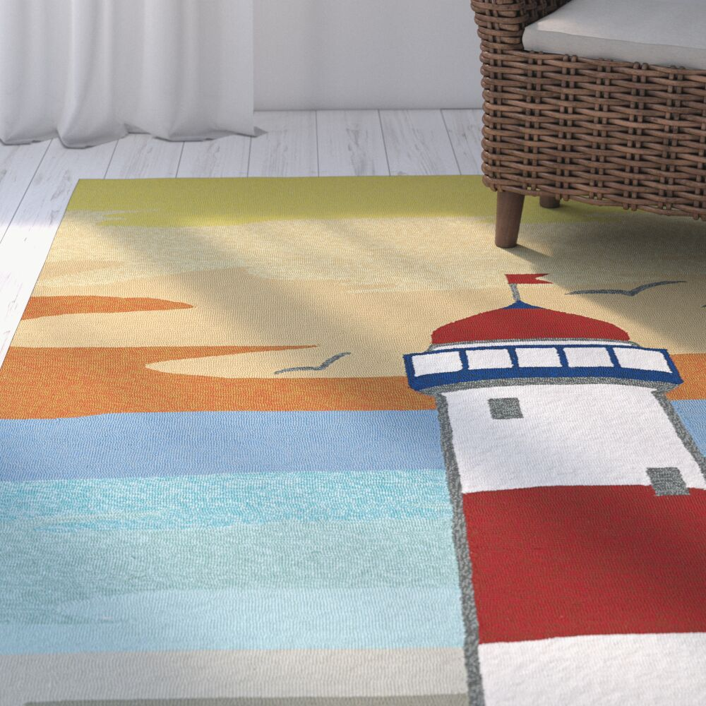 Sereno Handmade Indoor / Outdoor Area Rug Rug Size: Rectangle 5' x 7'6