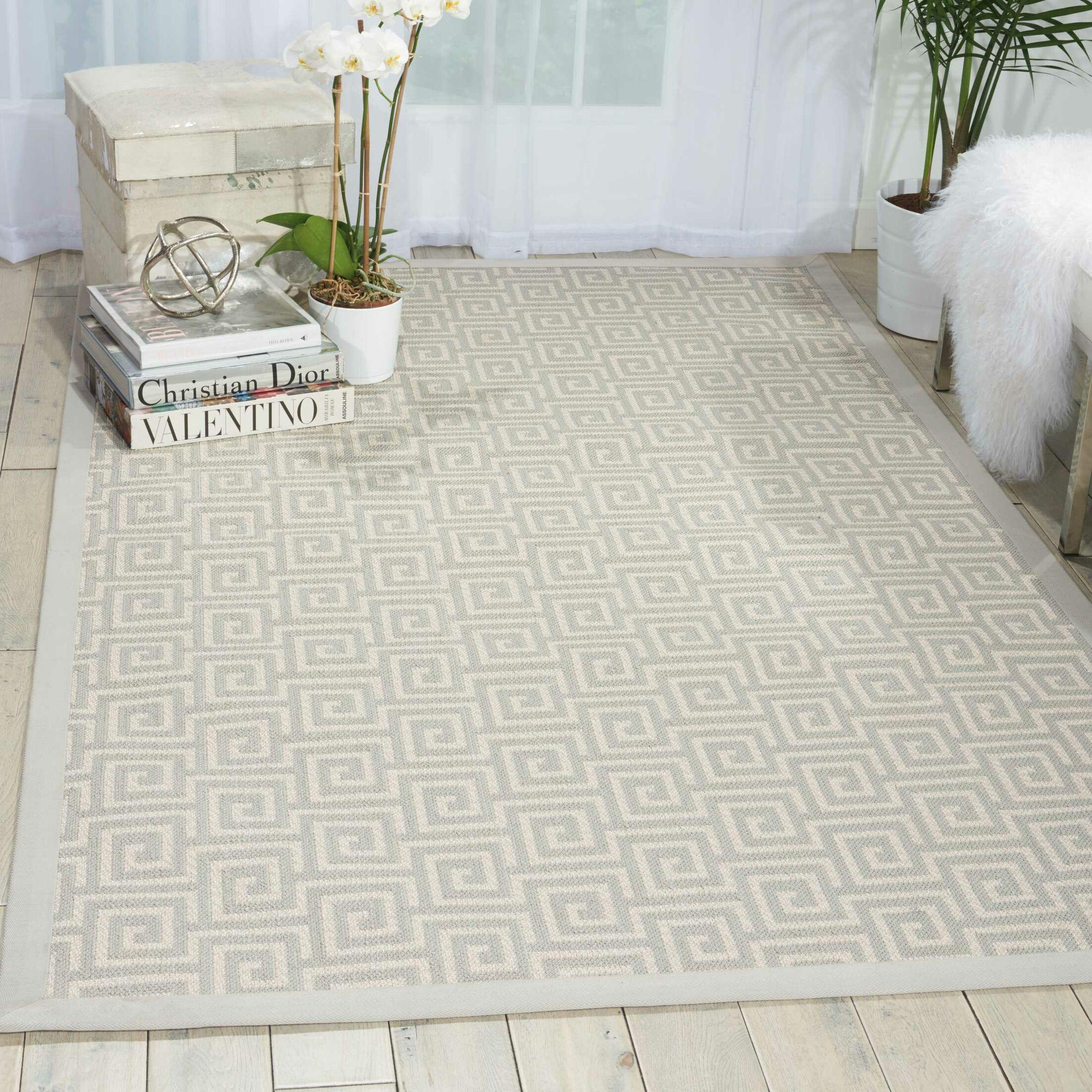Kennett Cream Indoor/Outdoor Area Rug Rug Size: Rectangle 12' x 15'