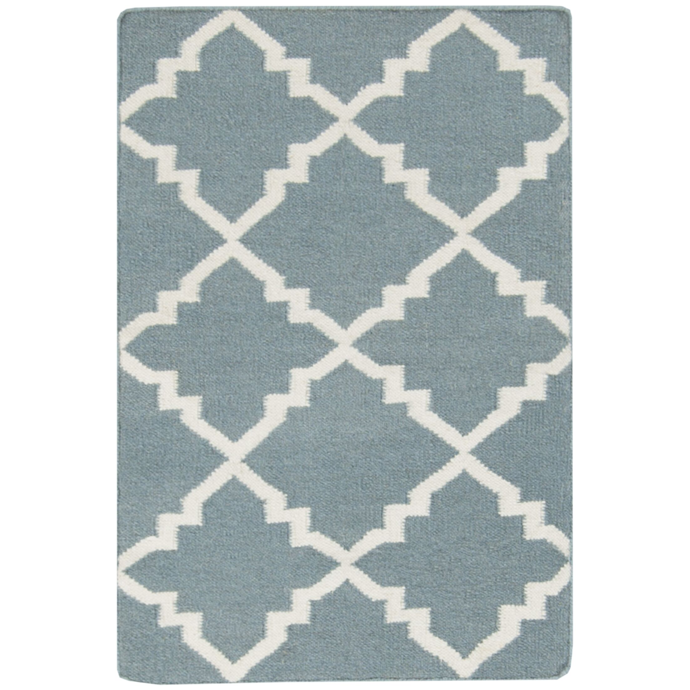 Darby Hand-Woven Blue Area Rug Rug Size: Rectangle 5' x 8'