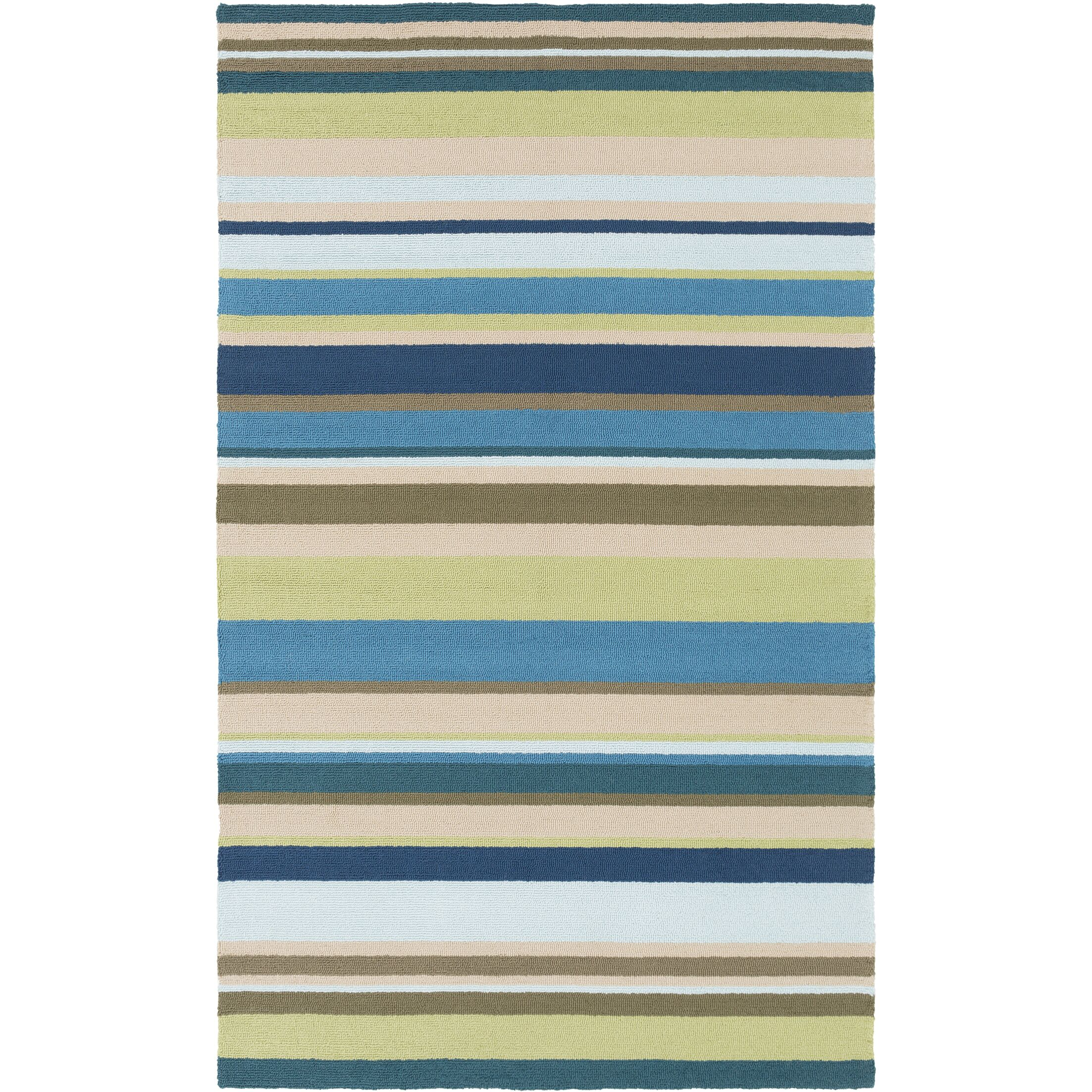 Mariela Fern Indoor/Outdoor Rug Rug Size: Runner 2'6