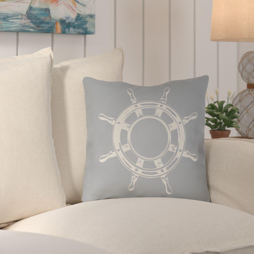 Castaway Outdoor Pillow Size: 18