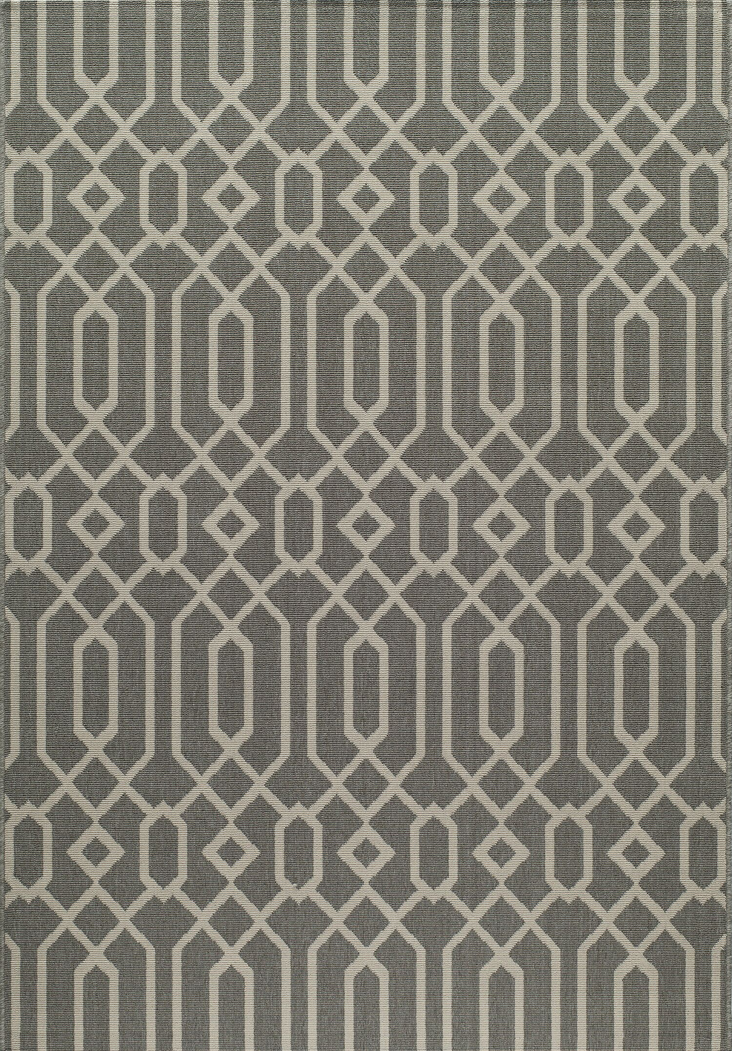 Halliday Traditional Gray Area Rug Rug Size: Rectangle 5'3
