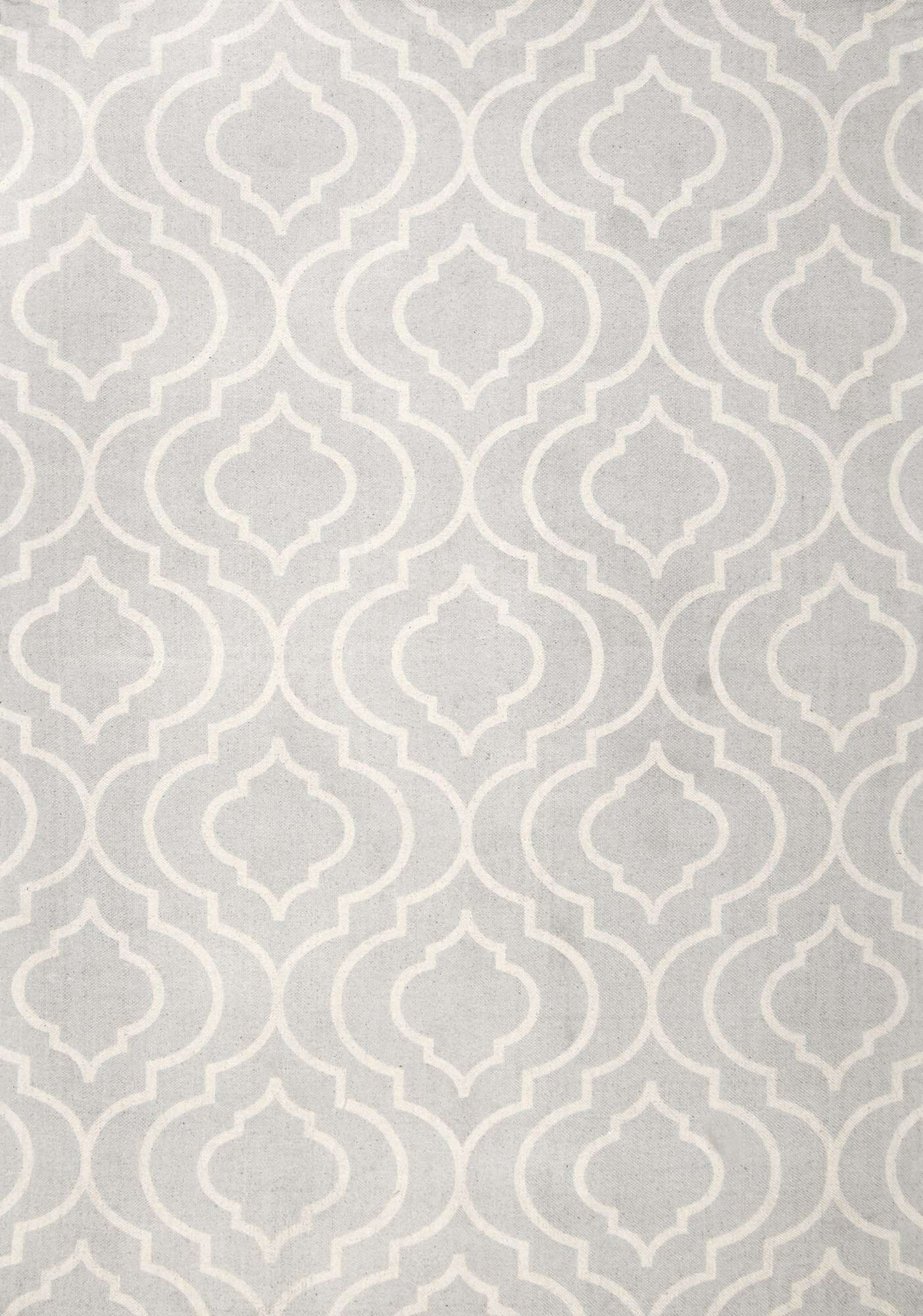 Justine Light Gray Area Rug Rug Size: Rectangle 4' x 6'