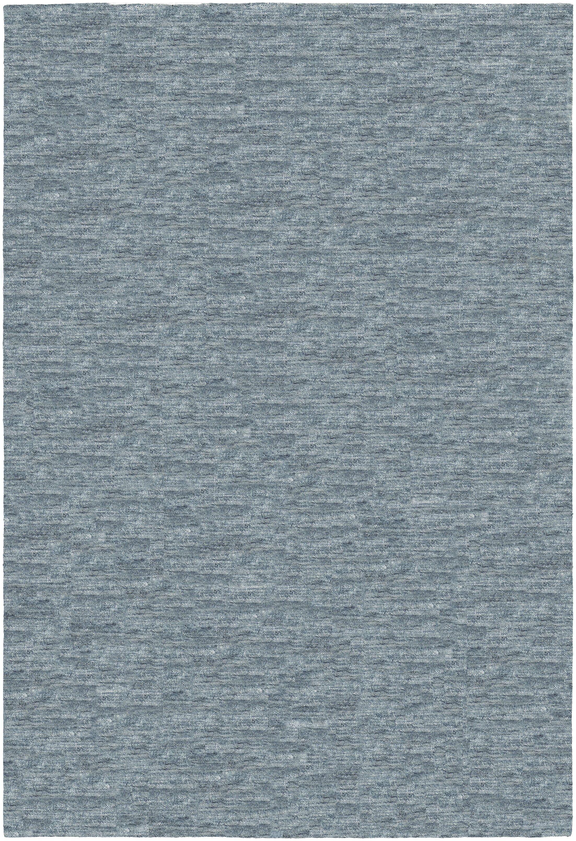Bayside Hand-Woven Charcoal Area Rug Rug Size: Rectangle 7'10