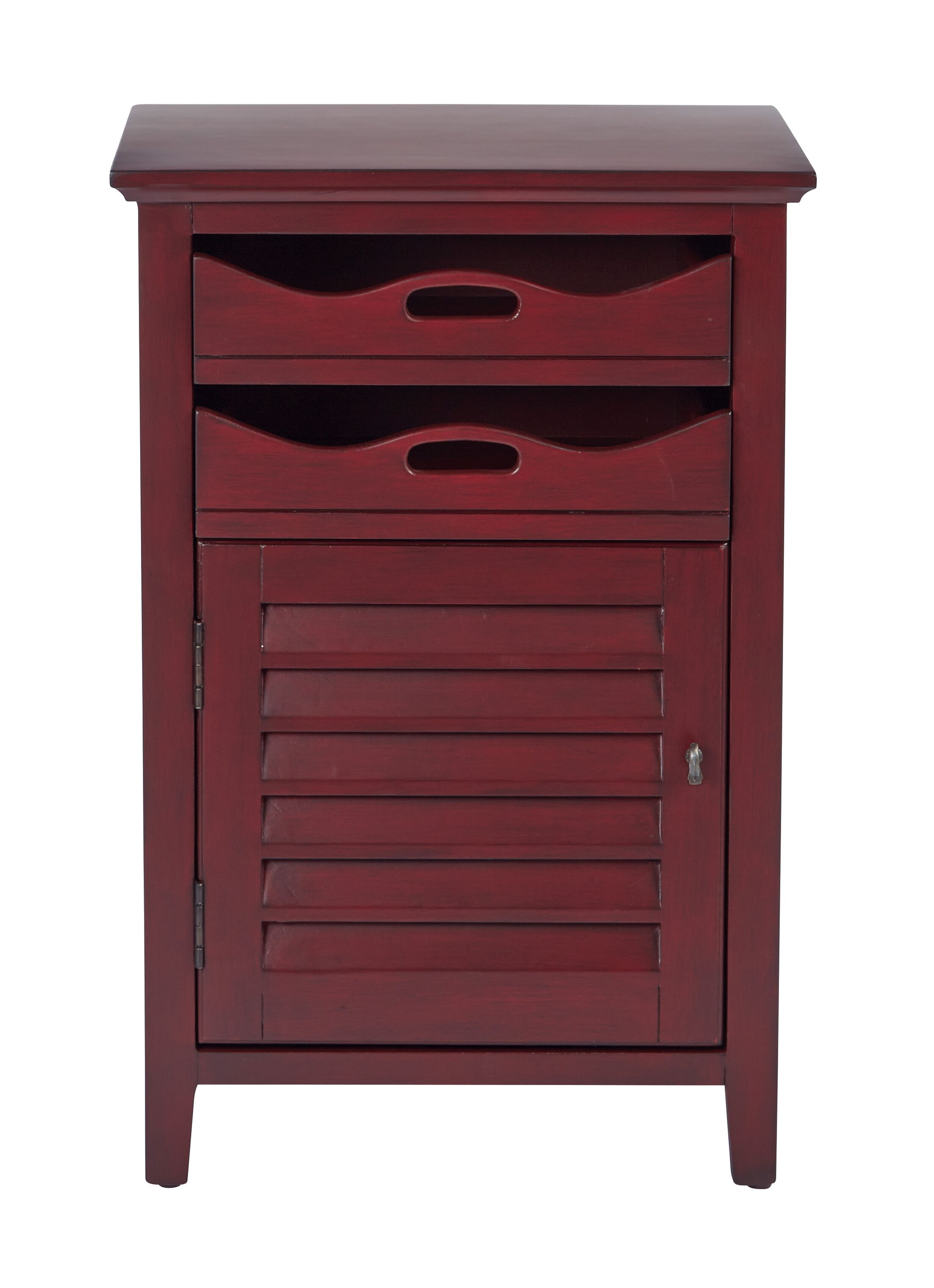 Riviera End Table Color: Vintage Wine