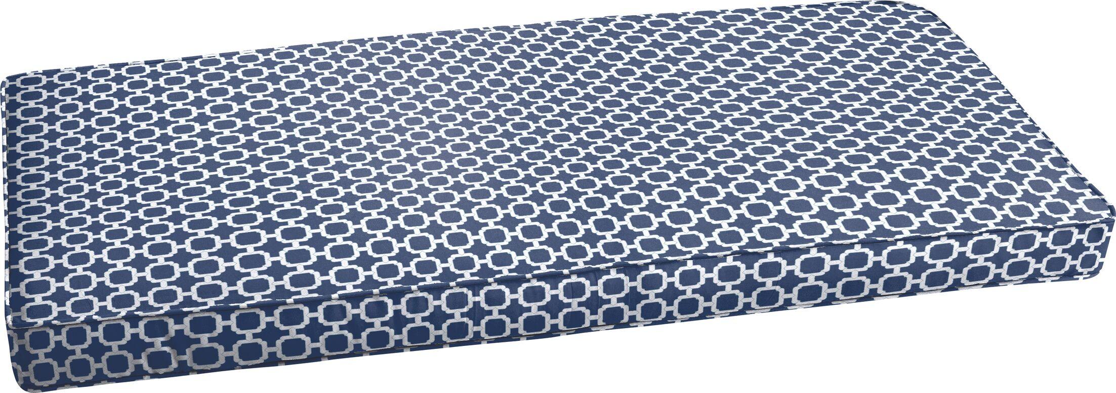 Peletier Indoor/Outdoor Bench Cushion Size: 48