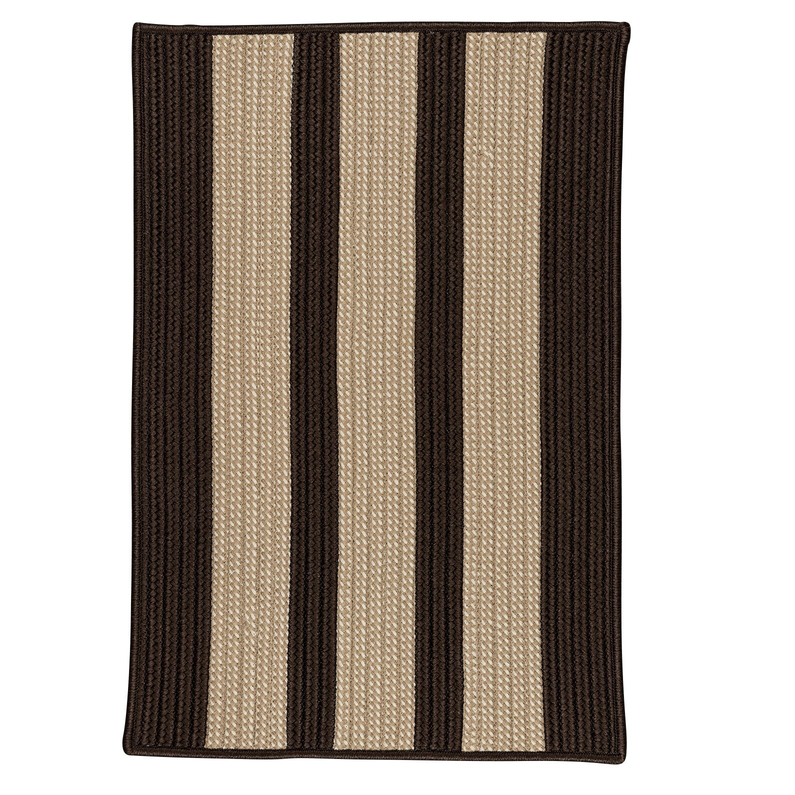 Seal Harbor Brown Indoor/Outdoor Area Rug Rug Size: Square 12'