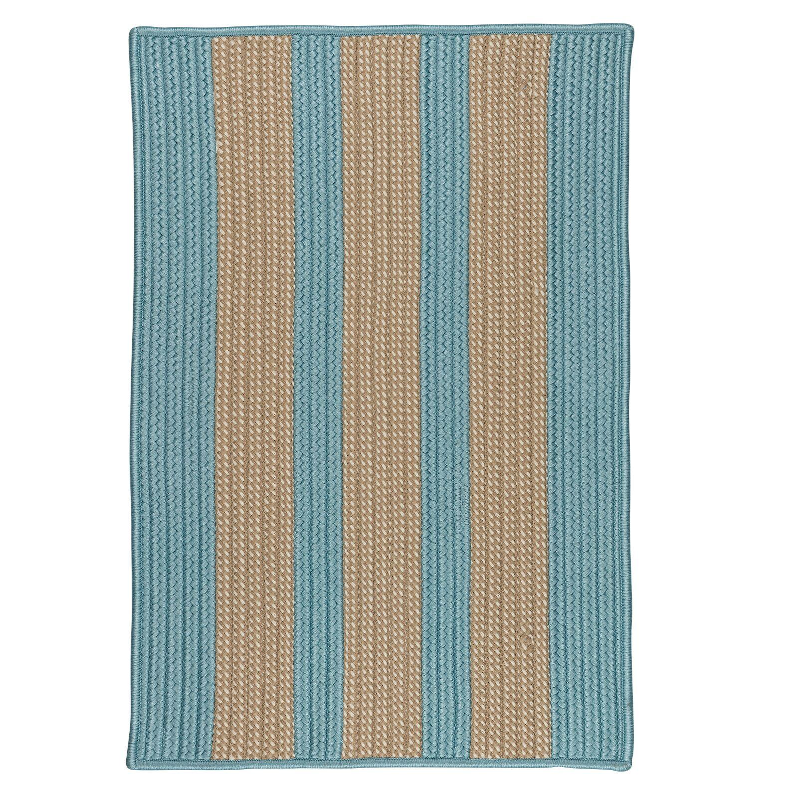 Seal Harbor Light Blue Indoor/Outdoor Area Rug Rug Size: Runner 2' x 12'