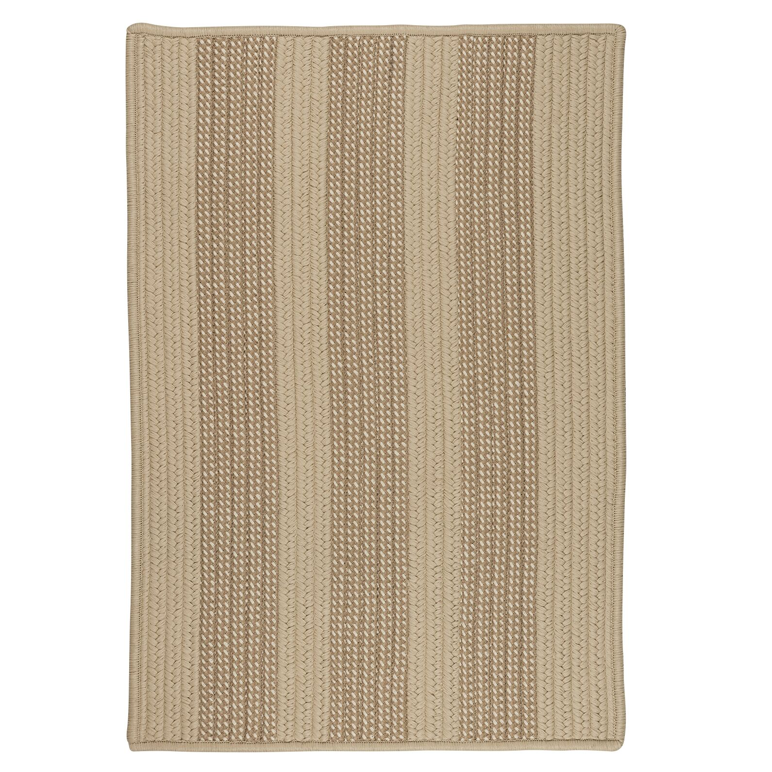Seal Harbor Natural Indoor/Outdoor Area Rug Rug Size: Square 12'