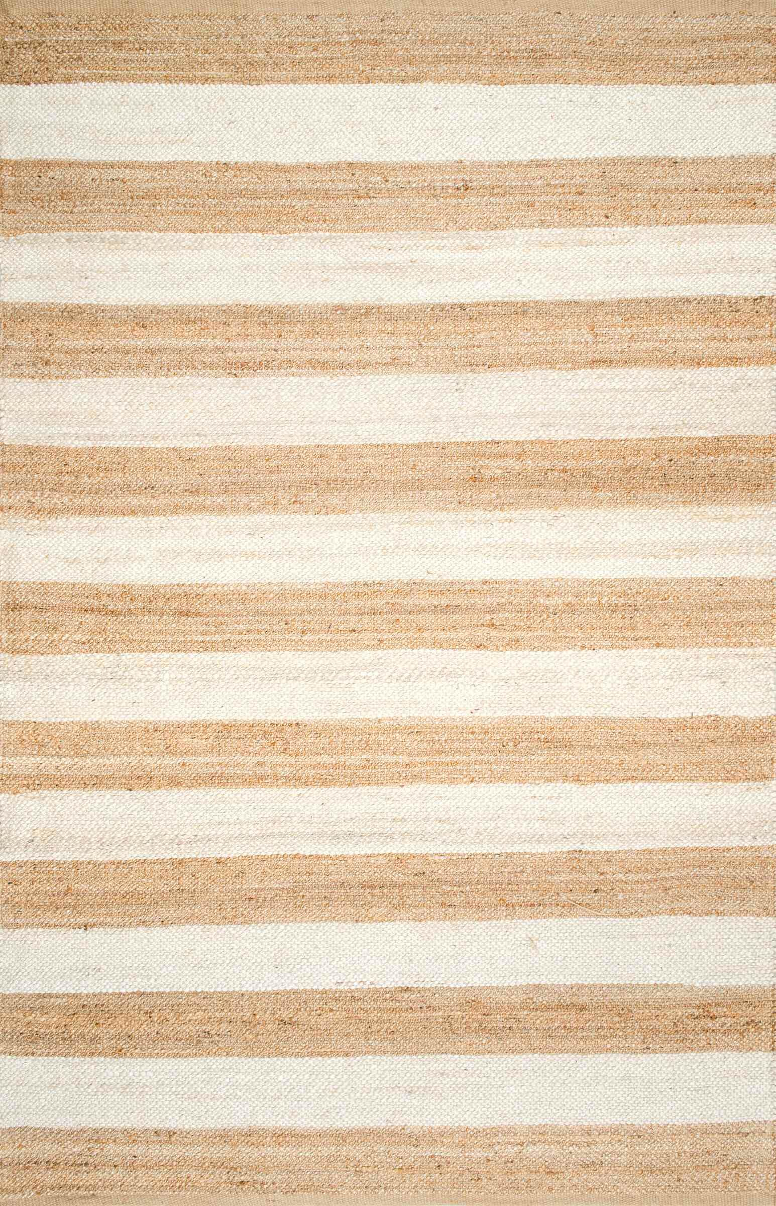 Stockton Springs Beige/Bleached Area Rug Rug Size: Rectangle 7'6