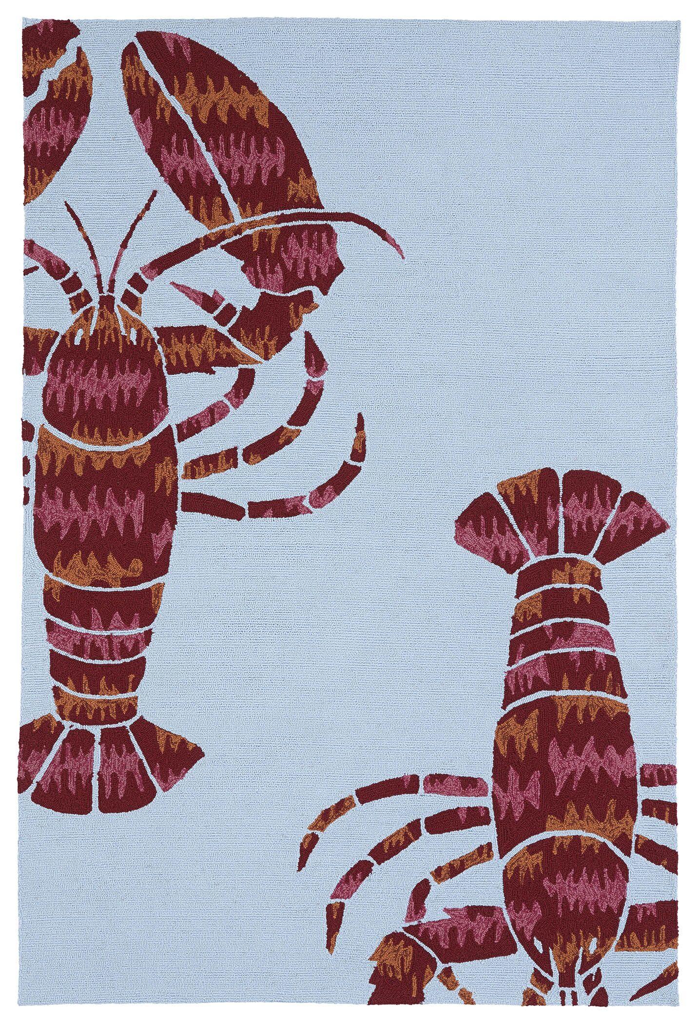 Gordon Hand Tufted Indoor/Outdoor Area Rug Rug Size: Rectangle 8'6