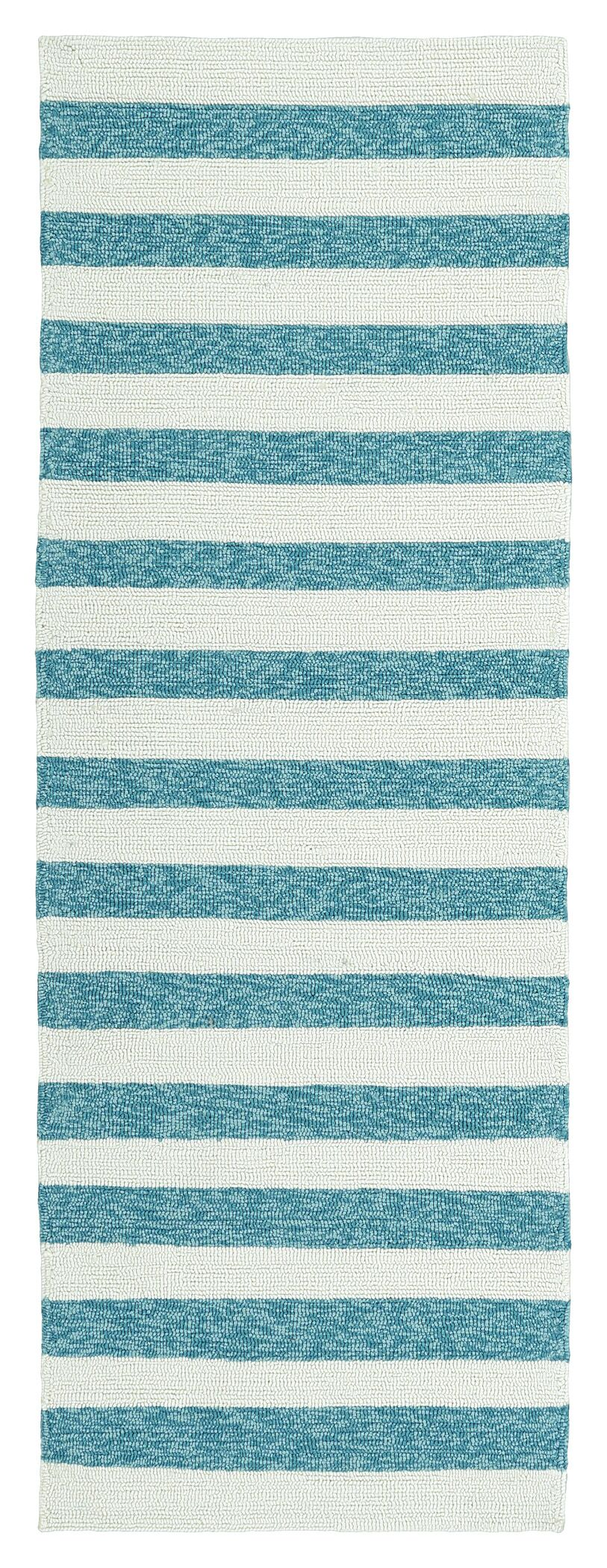 Suffield Hand-Tufted Blue Indoor/Outdoor Area Rug Rug Size: Rectangle 8' x 10'