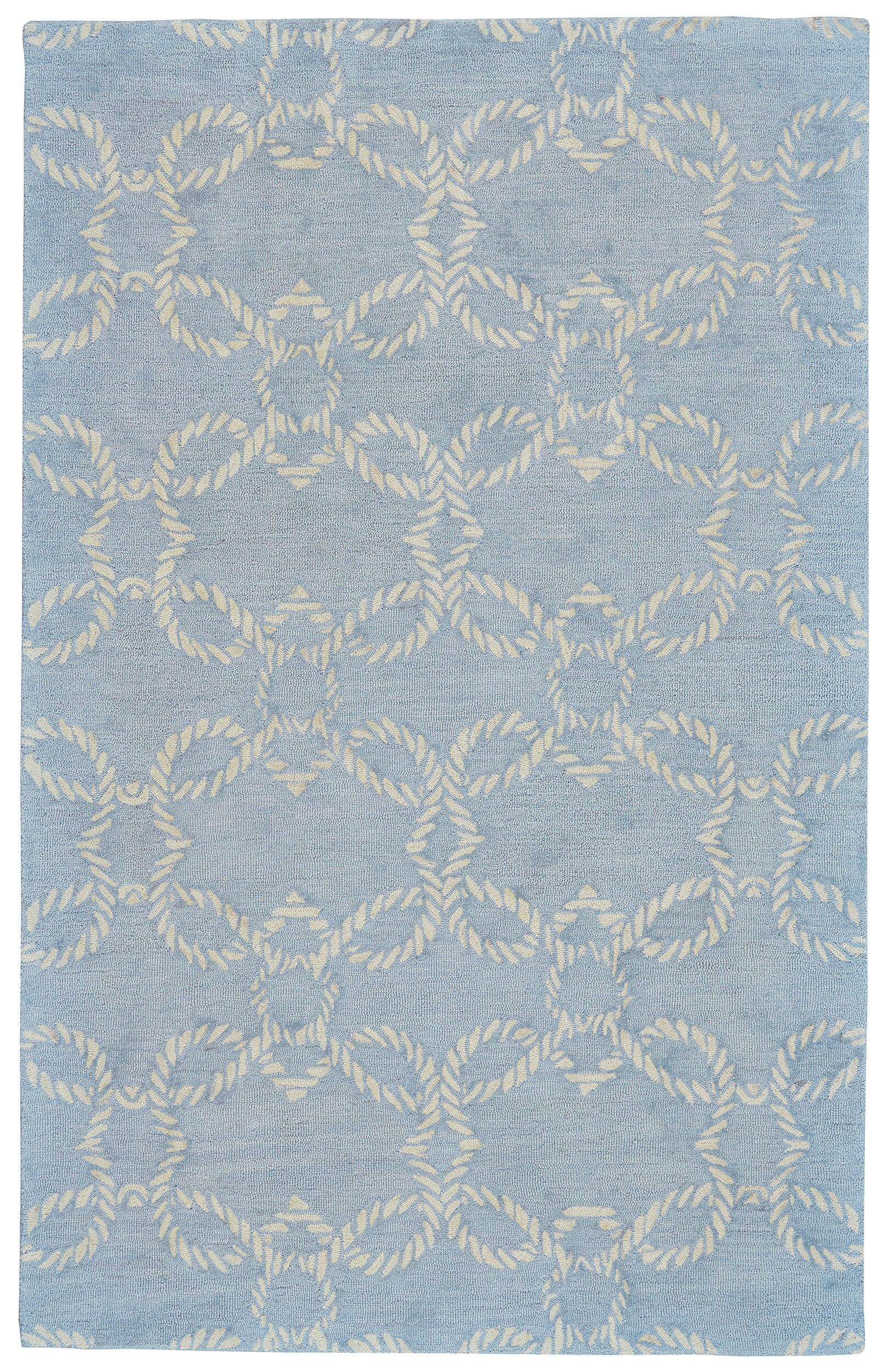 Quayside Hand-Tufted Glacier Indoor/Outdoor Area Rug Rug Size: Rectangle 8' x 11'