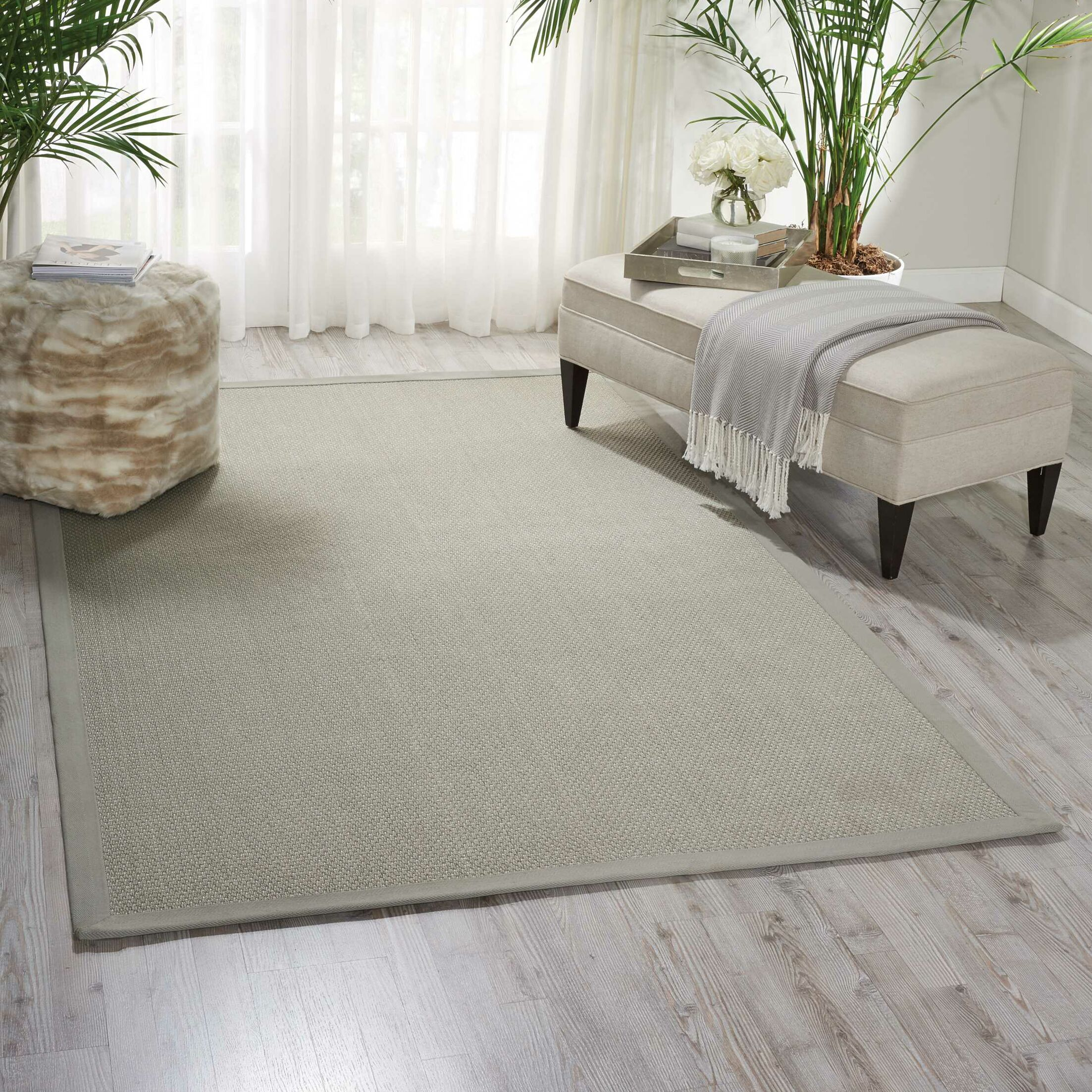 Seacor Gray Indoor/Outdoor Area Rug Rug Size: Rectangle 3' x 7'6