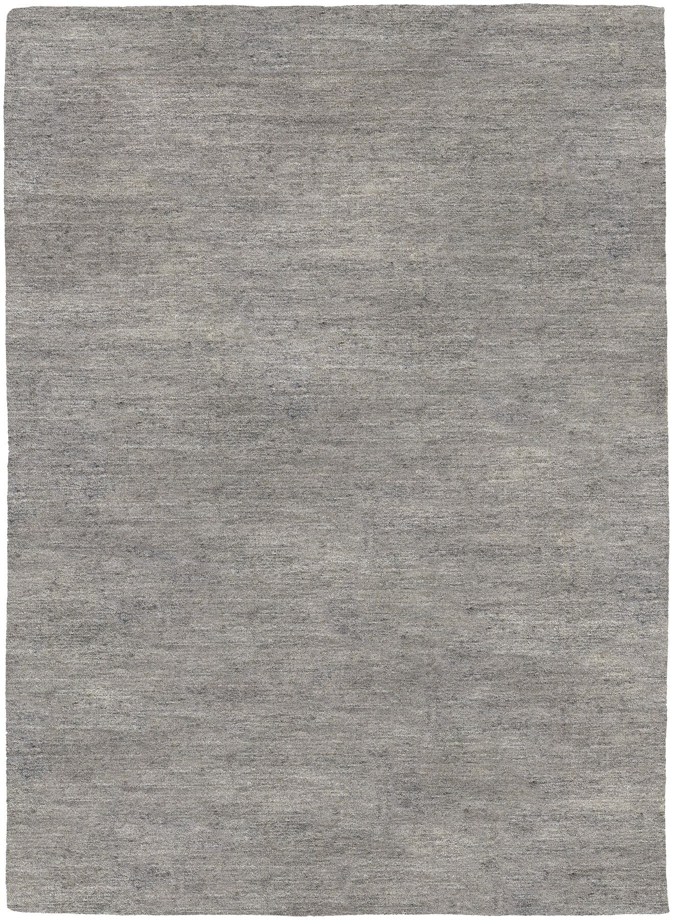Bayside Hand-Woven Gray Area Rug Rug Size: Rectangle 9'6