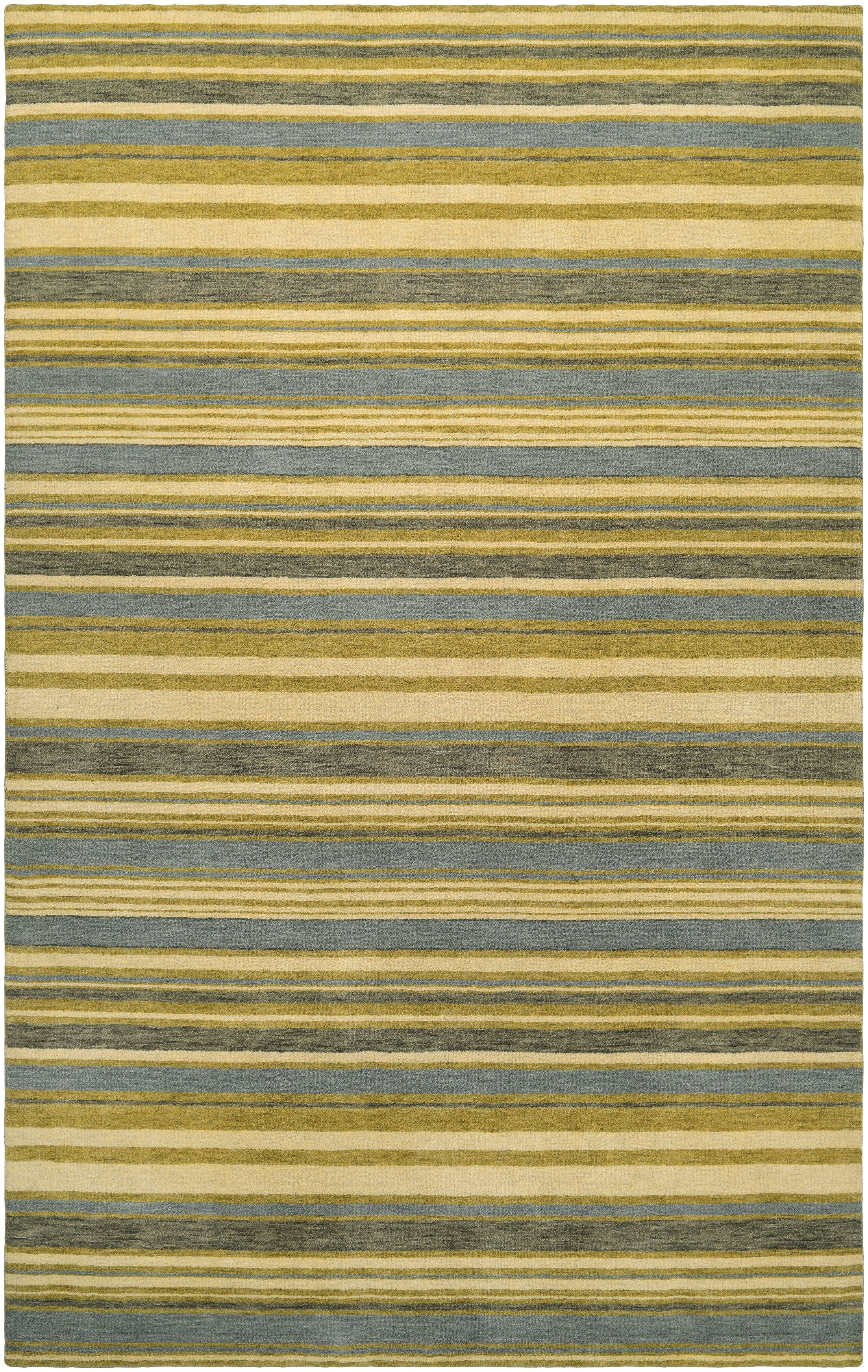 Russell Hand-Knotted Area Rug Rug Size: Rectangle 2'6