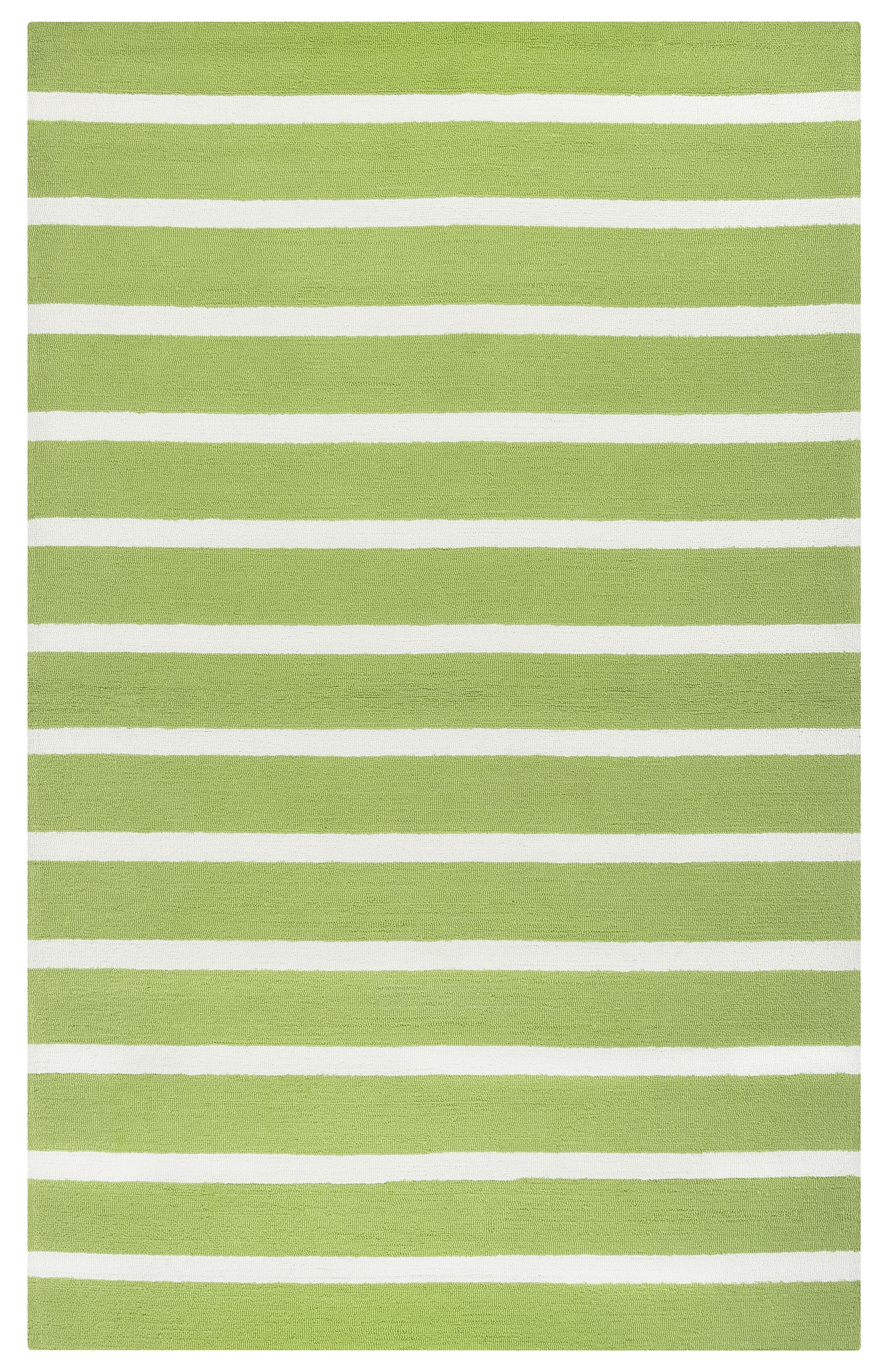 Lyndon Hand-Tufted Lime Indoor/Outdoor Area Rug Size: Rectangle 5' x 7'6