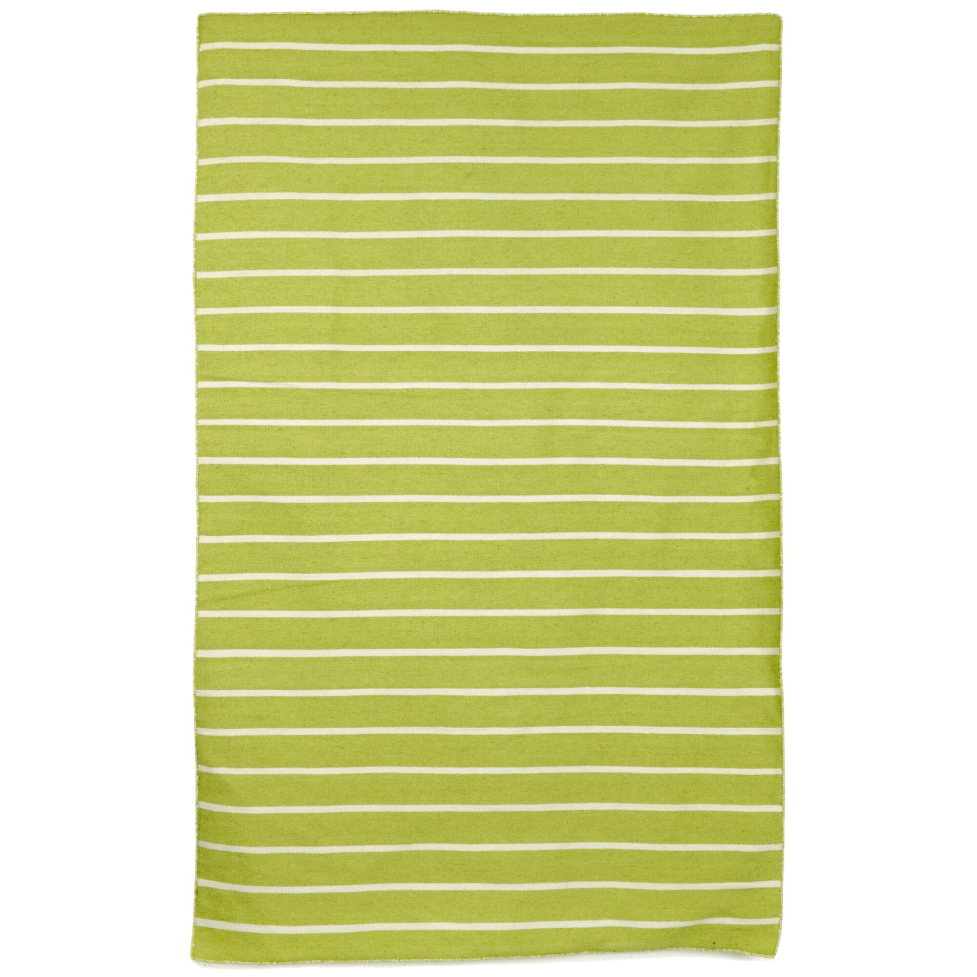 Ranier Hand-Woven Lime/Green/Ivory Indoor/Outdoor Area Rug Rug Size: Rectangle 8'3