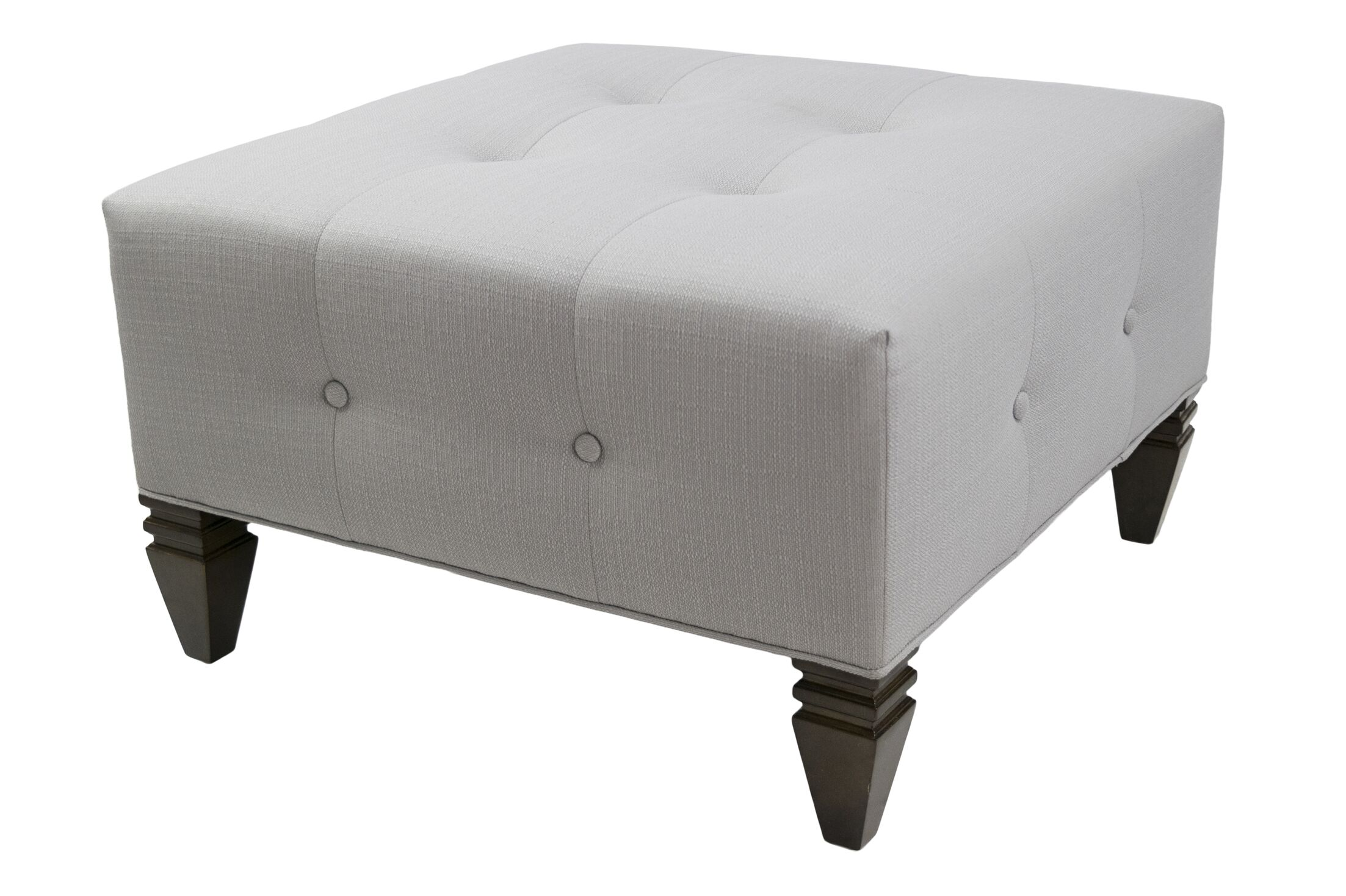 Hobson Cocktail Ottoman Upholstery: Platinum