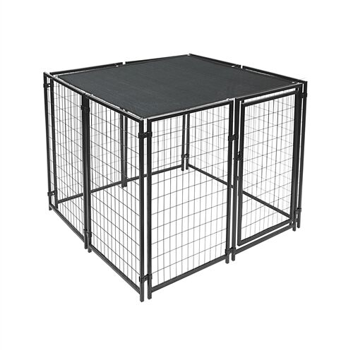 Mercier Dog Kennel Shade Cover with Aluminum Grommets Size: 72