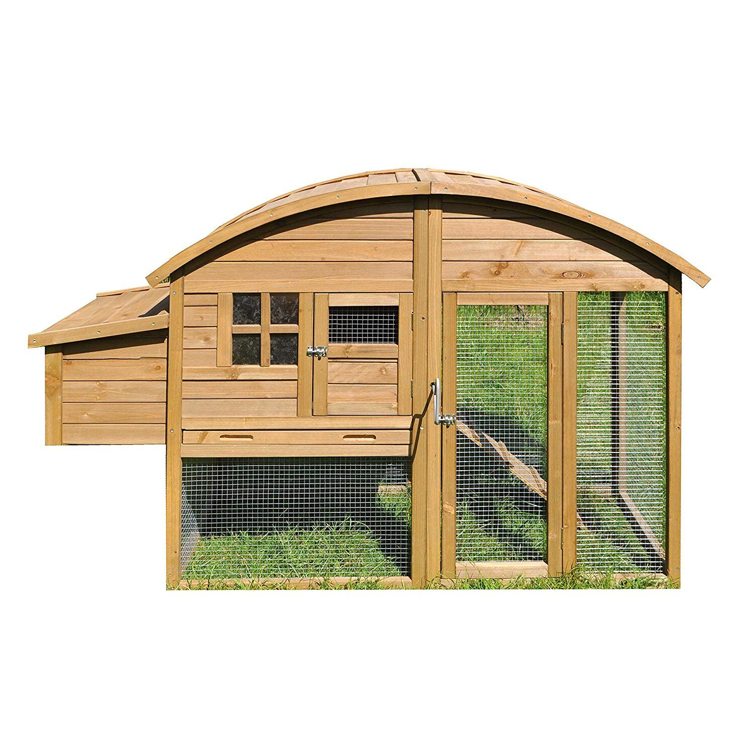 Kershaw Wooden Chicken House with Roof Access