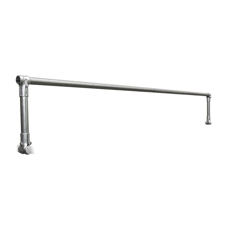 Kirby Vertical Bar Type Roof Structure Pipe for Dog Kennel Size: 19.6