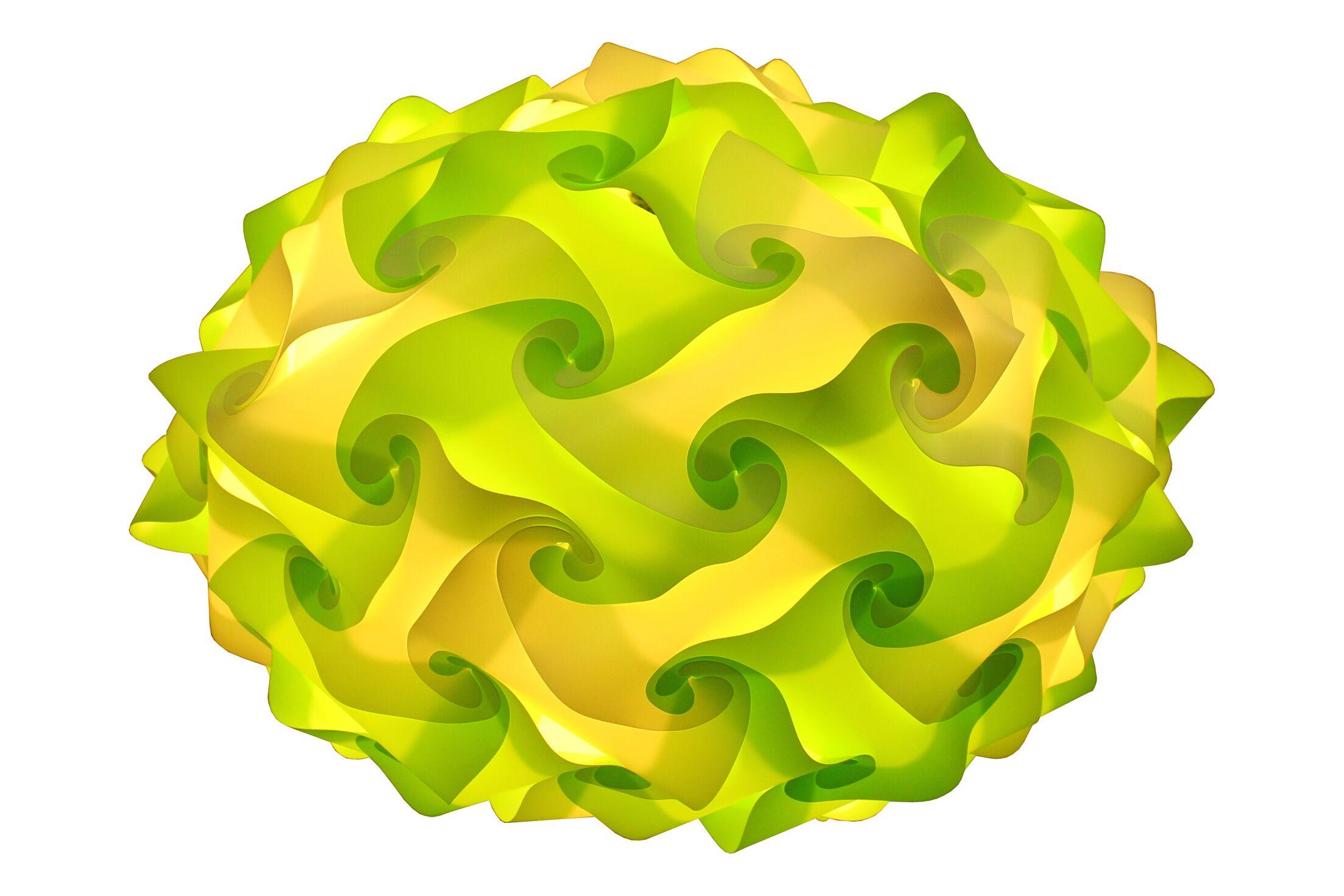 80 Element Globe Pendant Size: Medium, Shade Color: Light Green