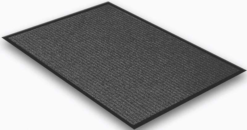 Doormat Mat Size: Rectangle 2' x 3', Color: Charcoal