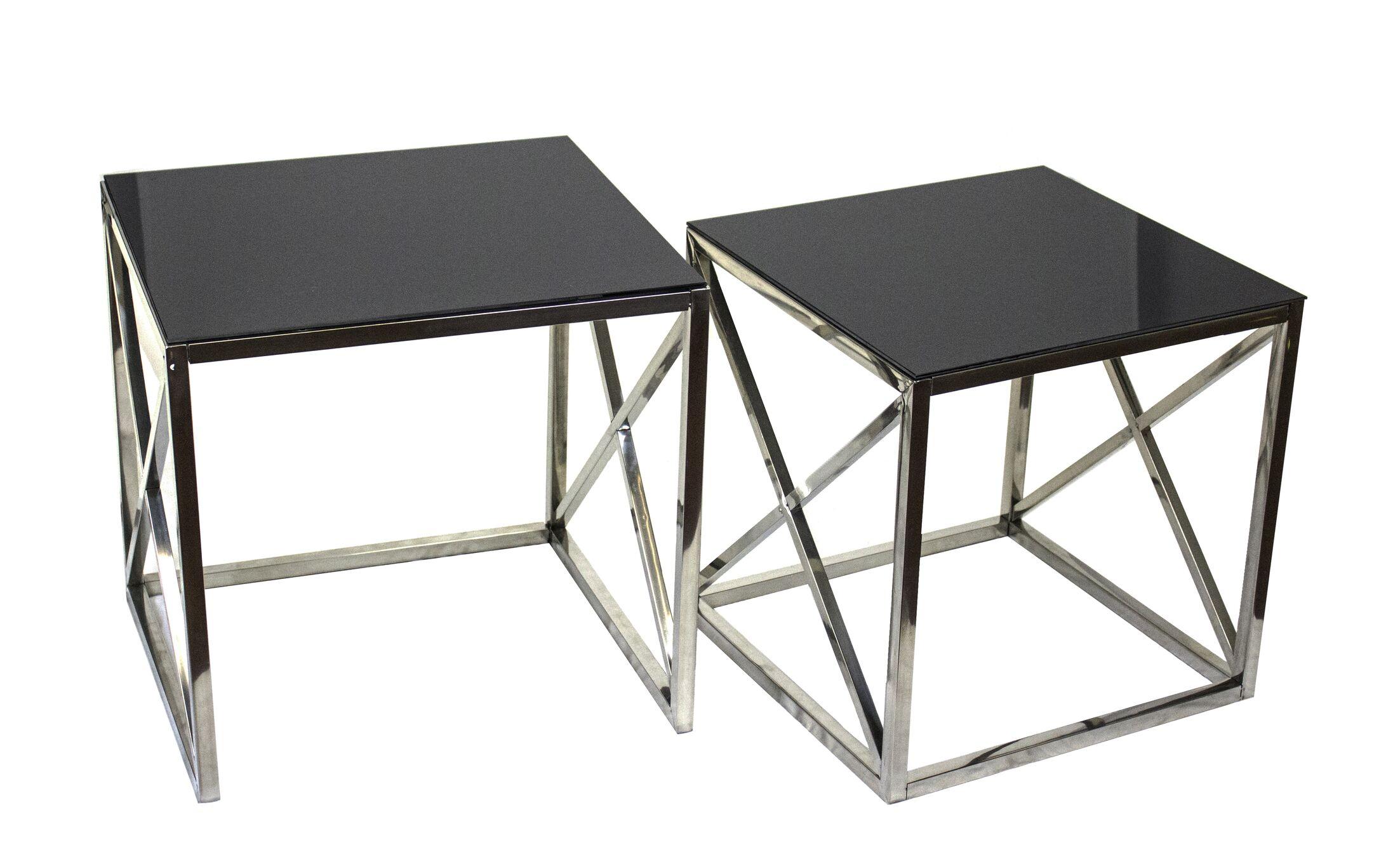 Angelina 2 Piece End Table Set