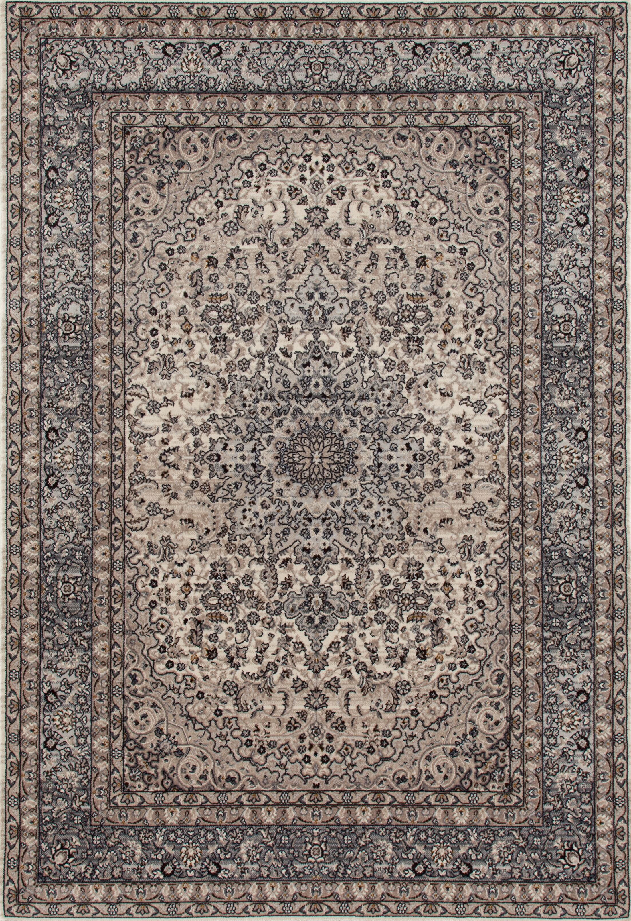 Elite Gray Area Rug Rug Size: Rectangle 7'10