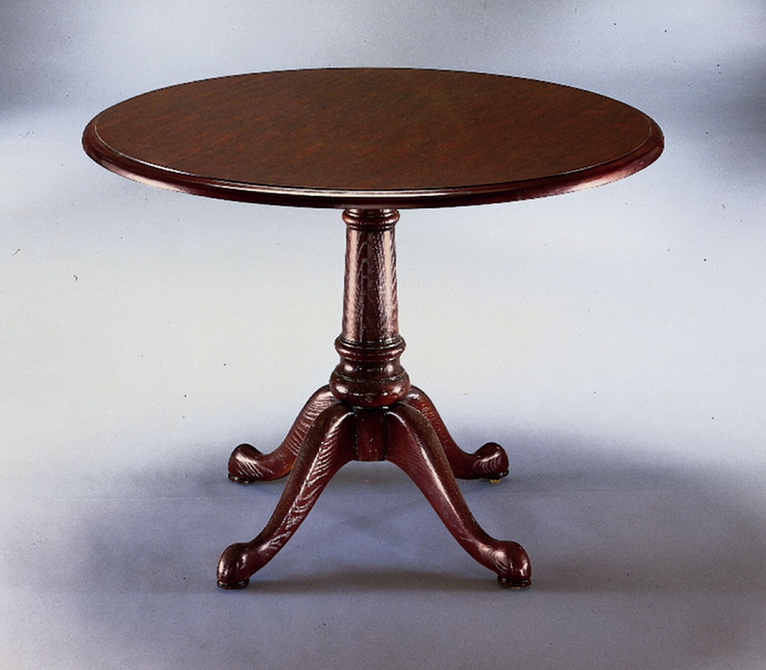 Governor's Queen Anne Circular Conference Table Size: 3' 6