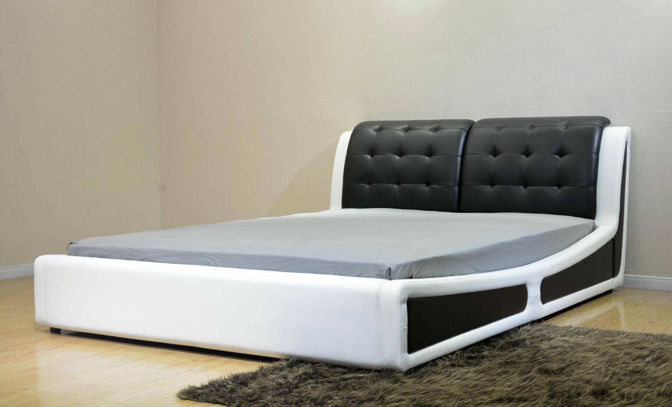 Greatime Upholstered Platform Bed Size: Eastern King