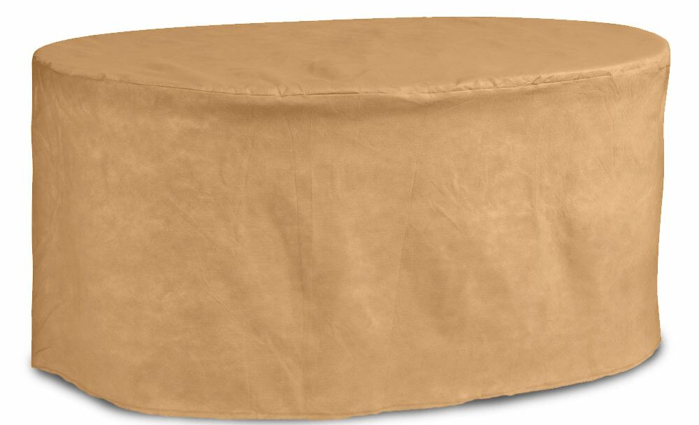 Chelsea Oval Patio Table Cover Size: 92