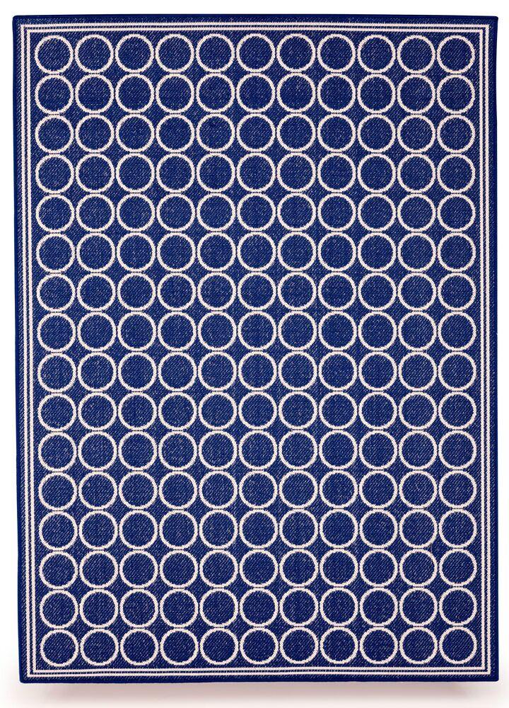 Shelbourne Royal Blue Indoor/Outdoor Area Rug Rug Size: 8' x 10'