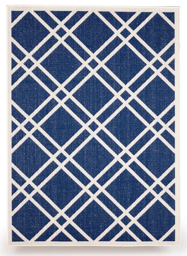 Maverick Royal Blue Indoor/Outdoor Area Rug Rug Size: 8' x 10'