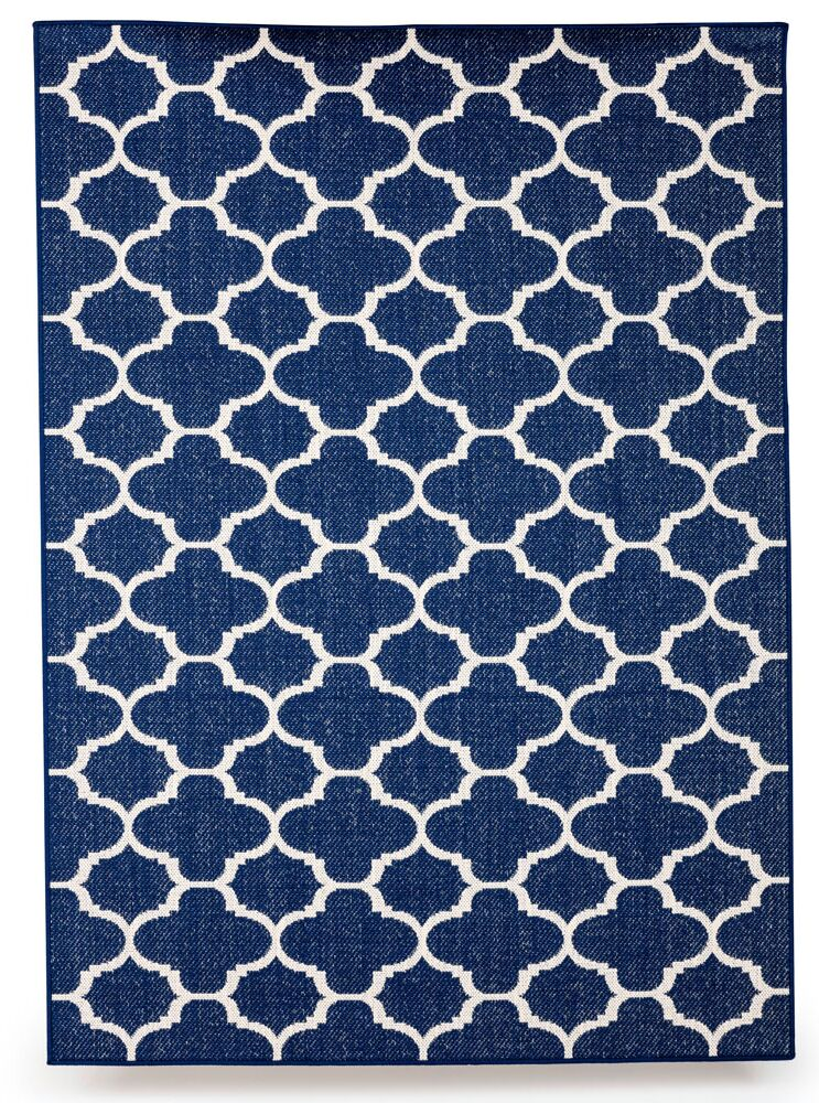 Winchester Royal Blue Indoor/Outdoor Area Rug Rug Size: 8' x 10'