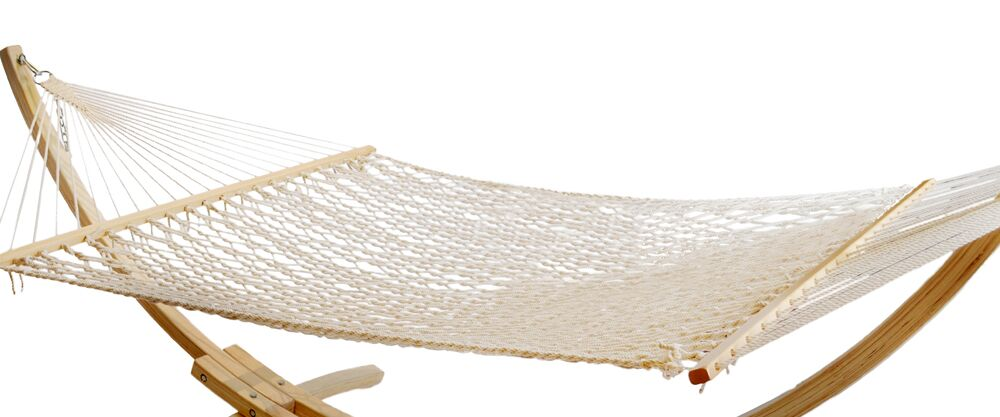 Rope Polyester Hammock Size: 65