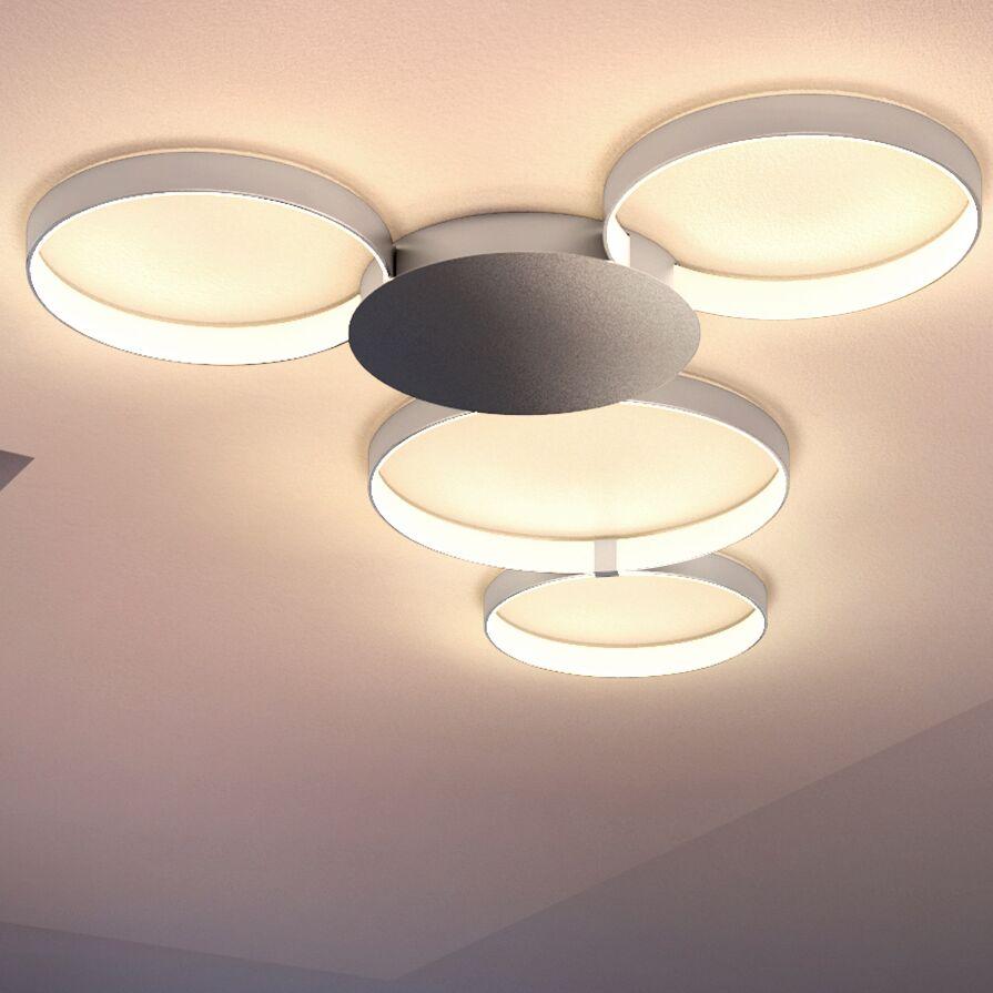 Doveton 4-Light LED Semi Flush Mount