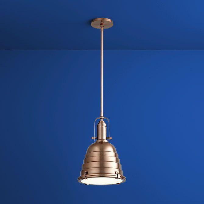 Sigma 1-Light Cone Pendant Finish: Satin Copper