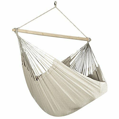 Caribbean Jumbo Lounger Chair Hammock Color: Beige