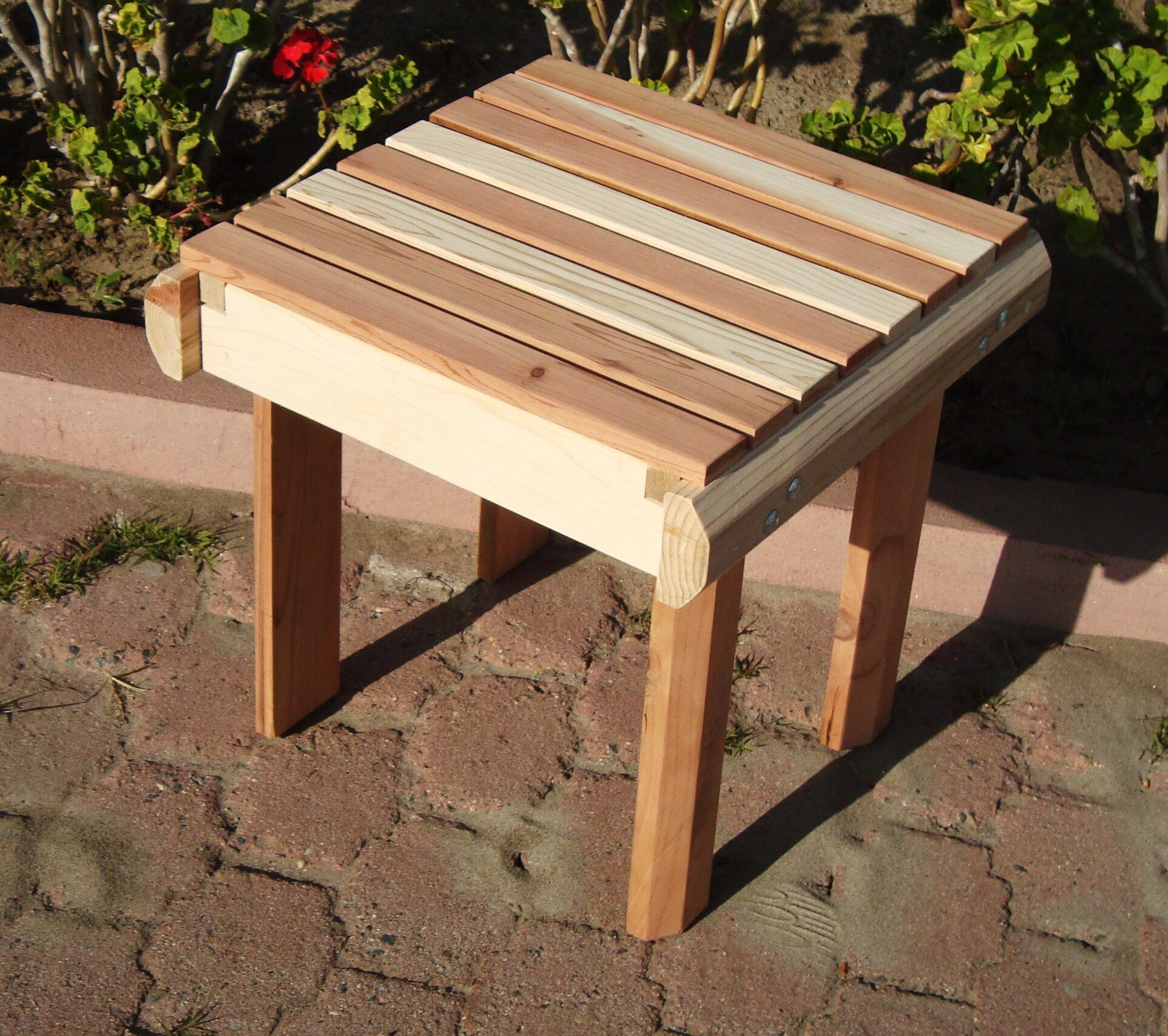 Henry Beach Wooden Side Table Color: Super Deck