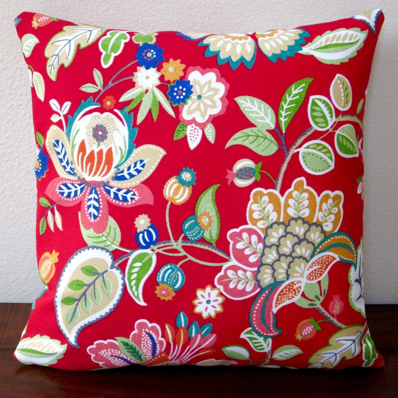 Floral in Modernative Outdoor Throw Pillow