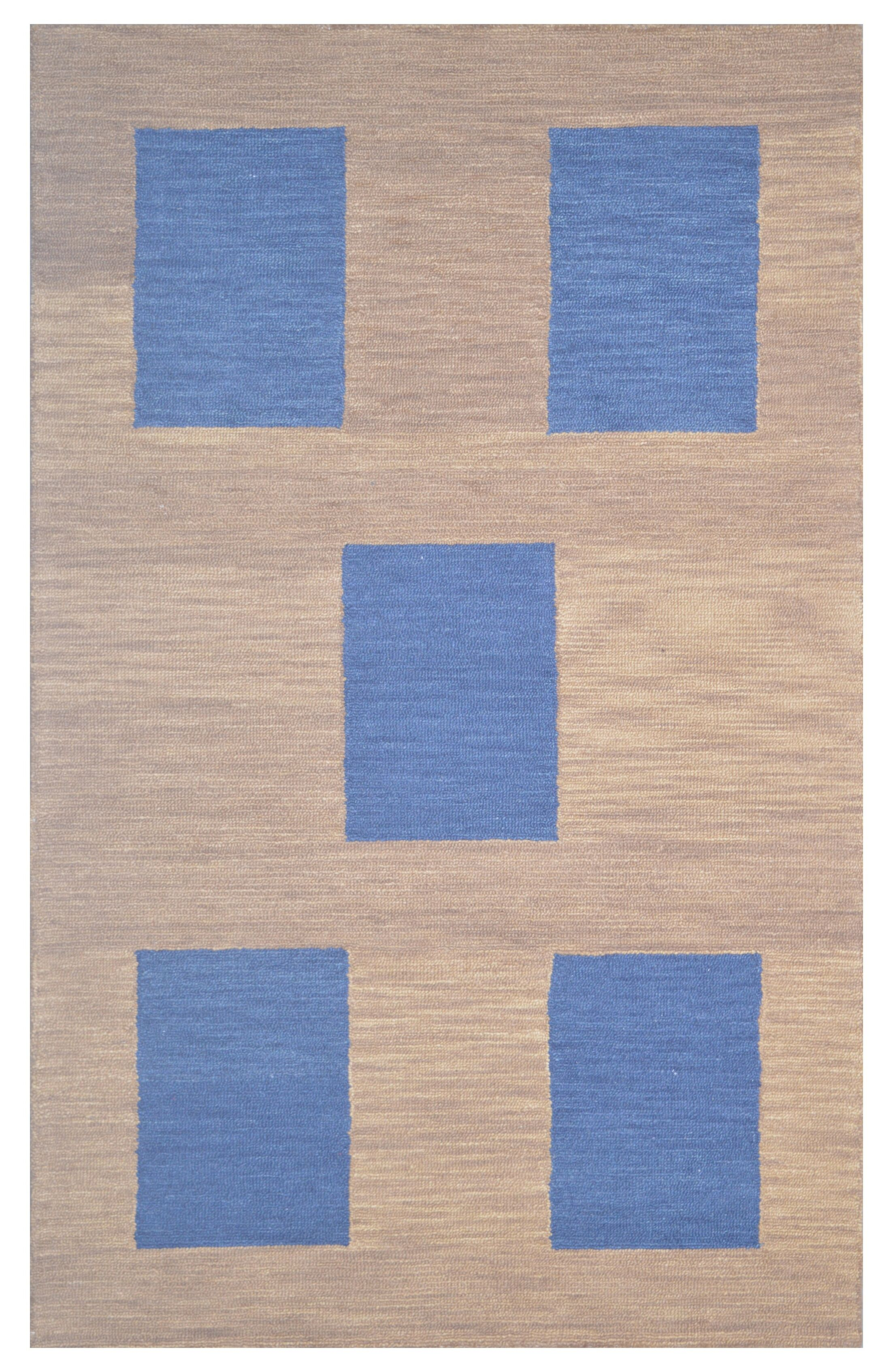 Wool Hand-Tufted Brown Area Rug Rug Size: 5' x 8'
