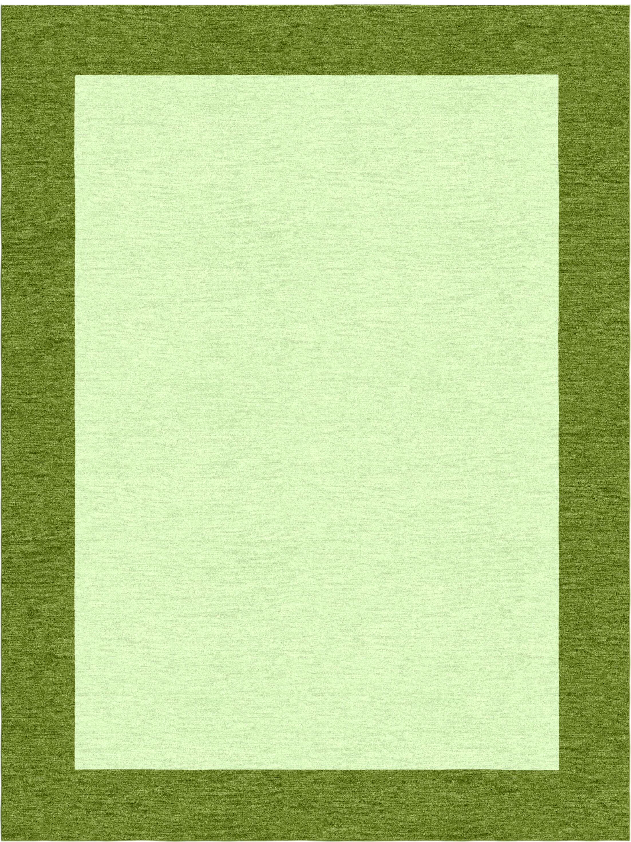 Godsey Hand-Tufted Wool Light Green Area Rug Rug Size: Rectangle 6' x 9'