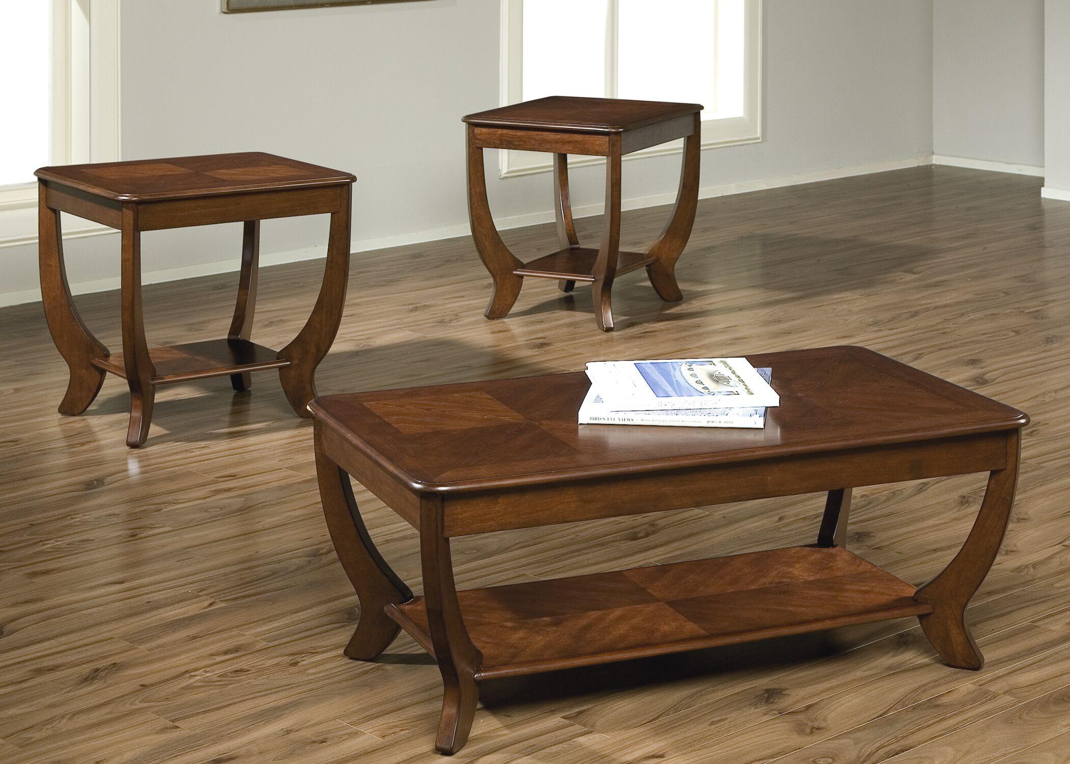Lynette 3 Piece Coffee Table Set