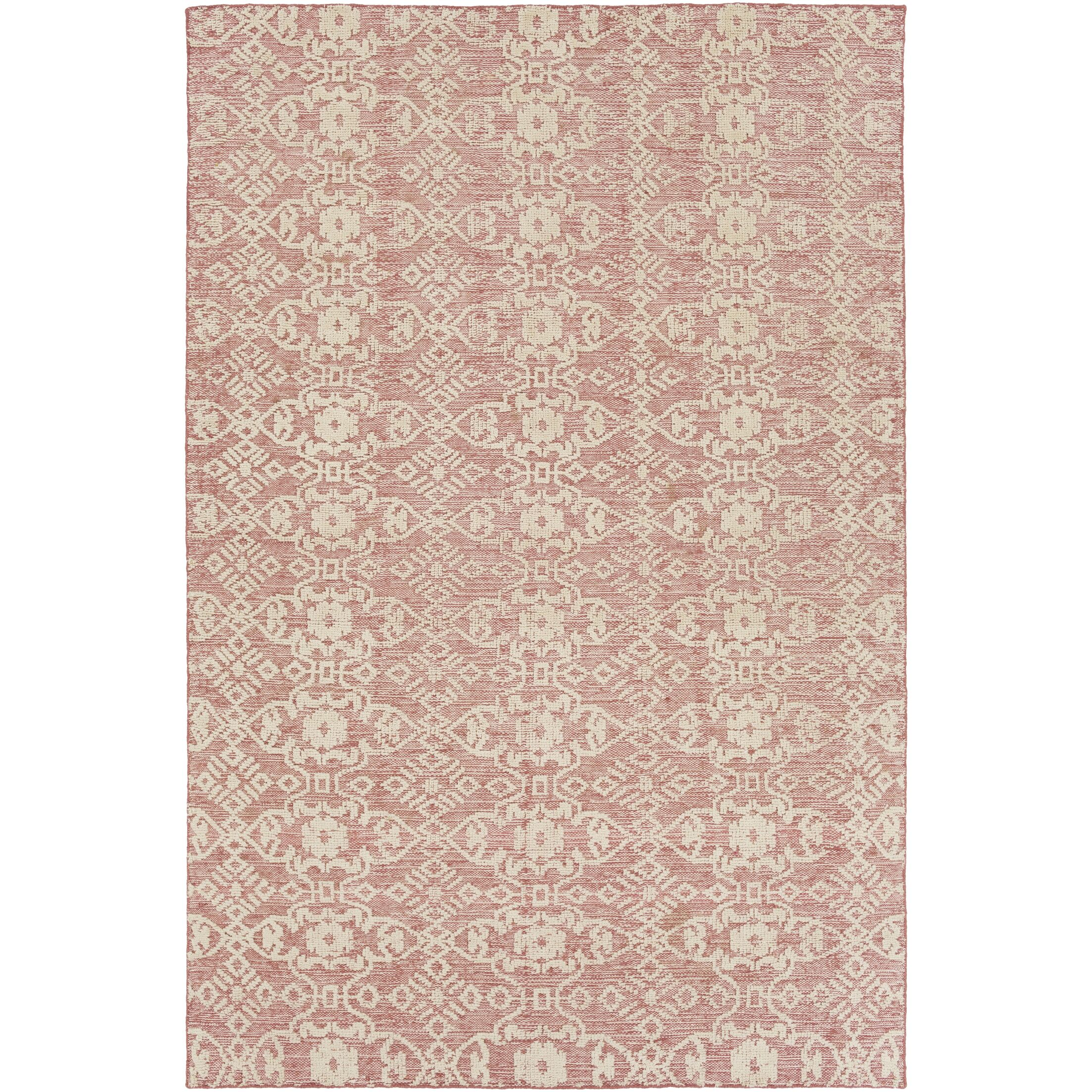Eramana Light Pink Area Rug Rug Size: Rectangle 9' x 13'