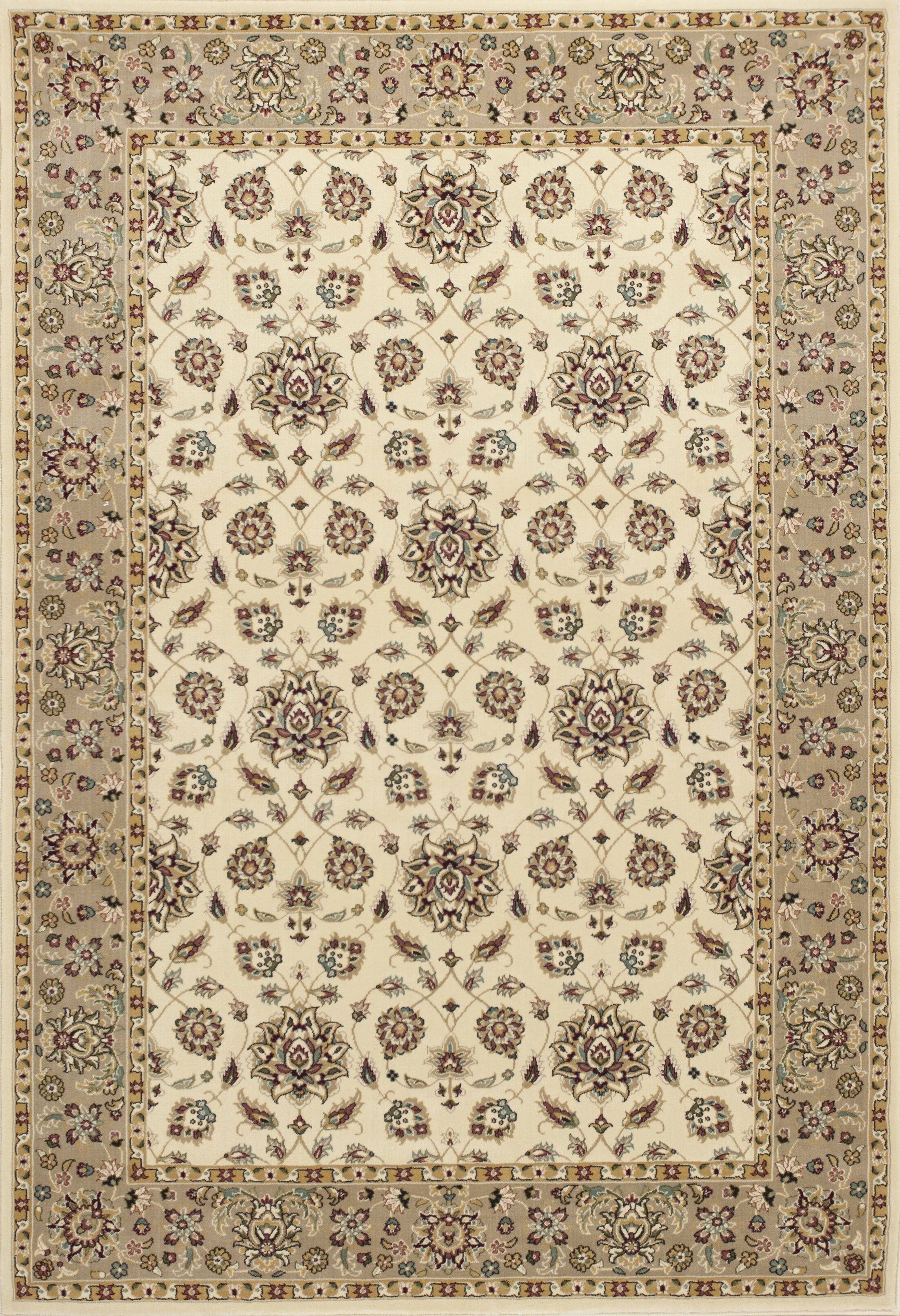 Arietta Ivory/Beige Area Rug Rug Size: Rectangle 8'9