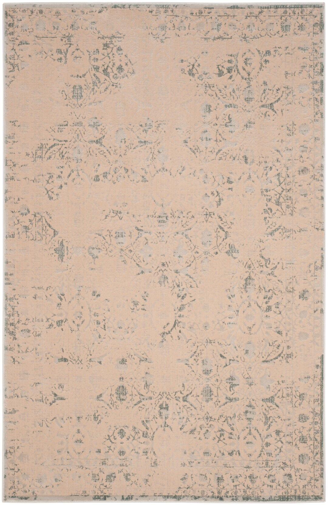 Hartville Cream Area Rug Rug Size: Rectangle 4' x 6'