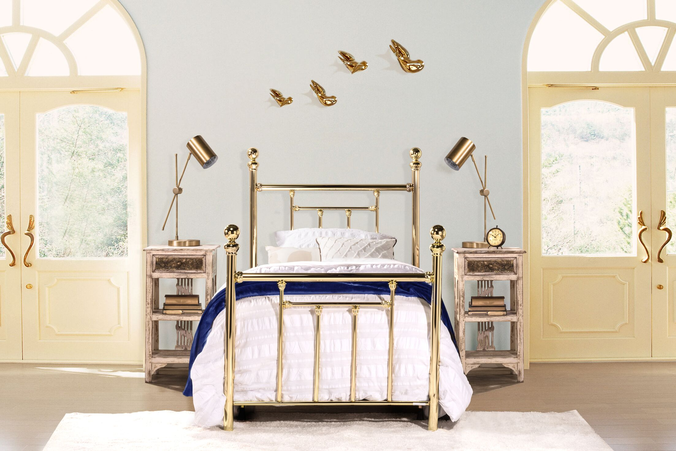 Applecrest Panel Bed Size: Twin